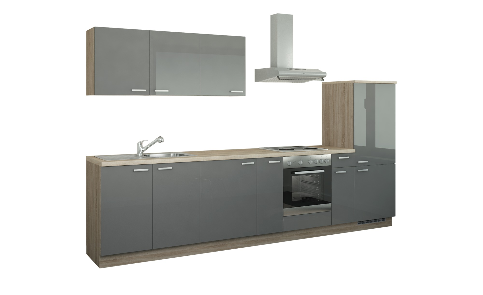 Küchenzeile mit Elektrogeräten Fulda ¦ Maße (cm): B: 330 Küchen >  Küchenblöcke - Höffner
