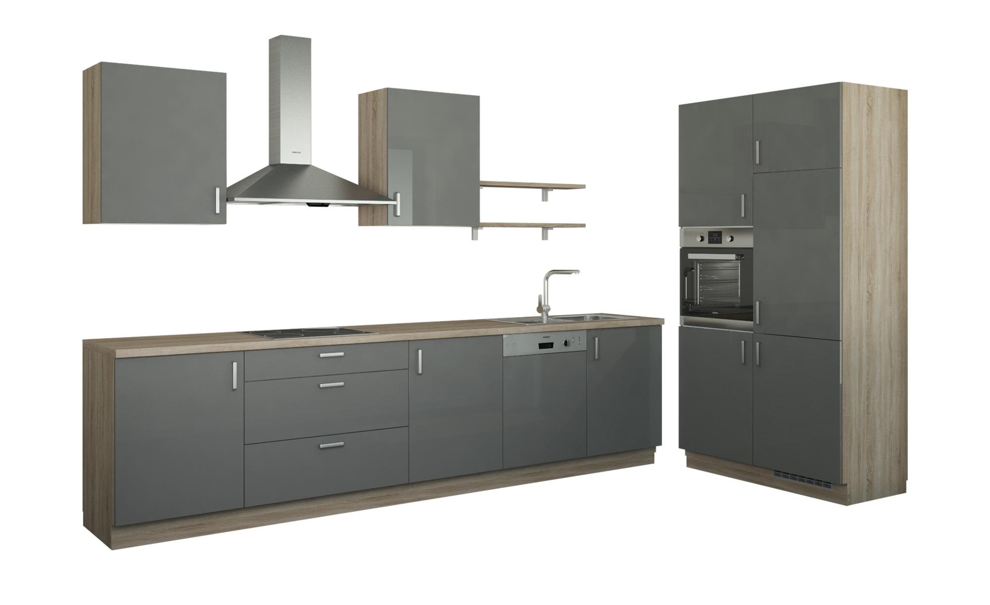 Küchenzeile ohne Elektrogeräte  Usedom Küchen > Küchenblöcke - Höffner | Küche und Esszimmer > Küchen > Küchenzeilen | Holzwerkstoff - Metall - Edelstahl | Möbel Höffner DE