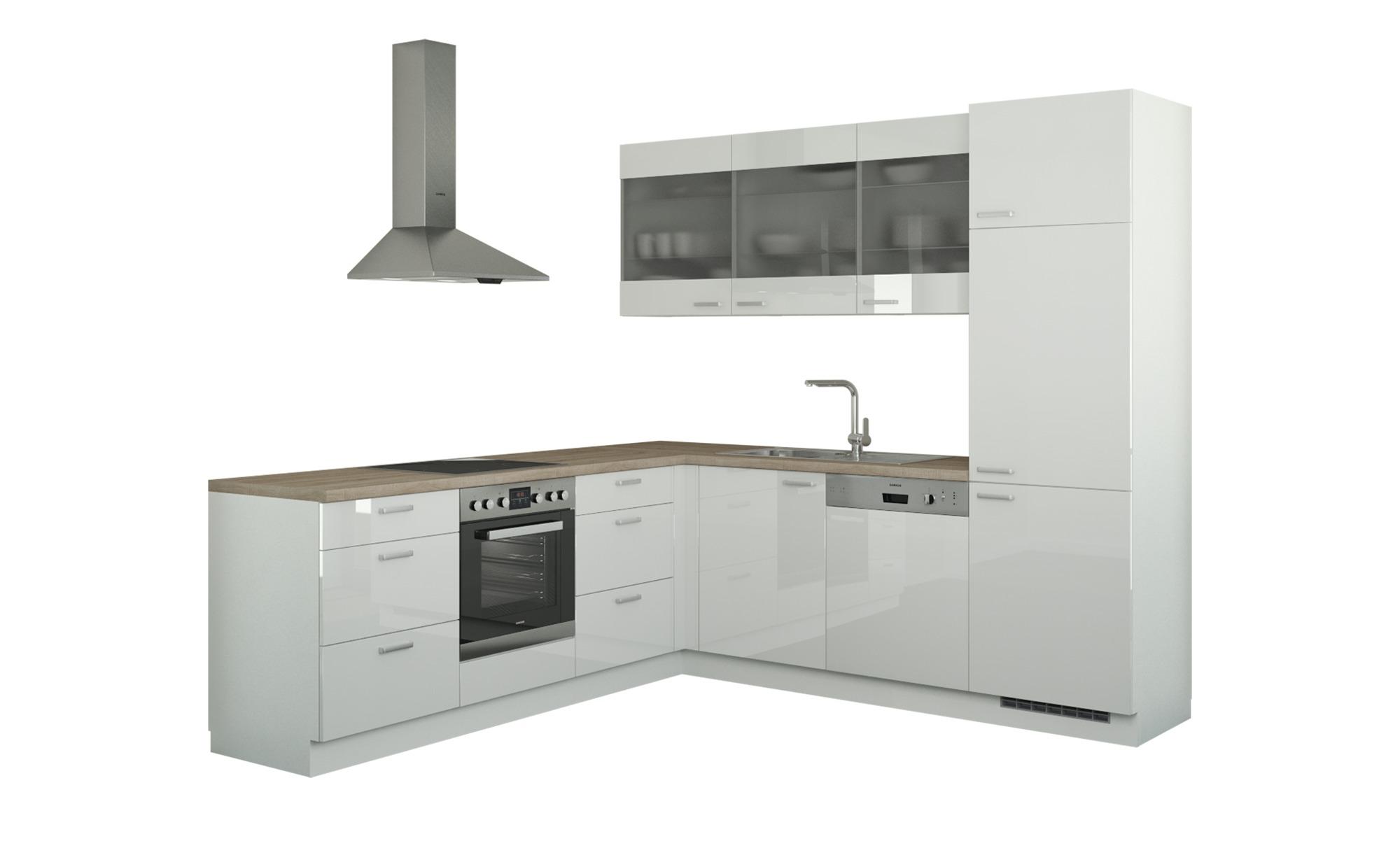 Winkelküche ohne Elektrogeräte  Sylt ¦ weiß Küchen > Küchenblöcke - Höffner