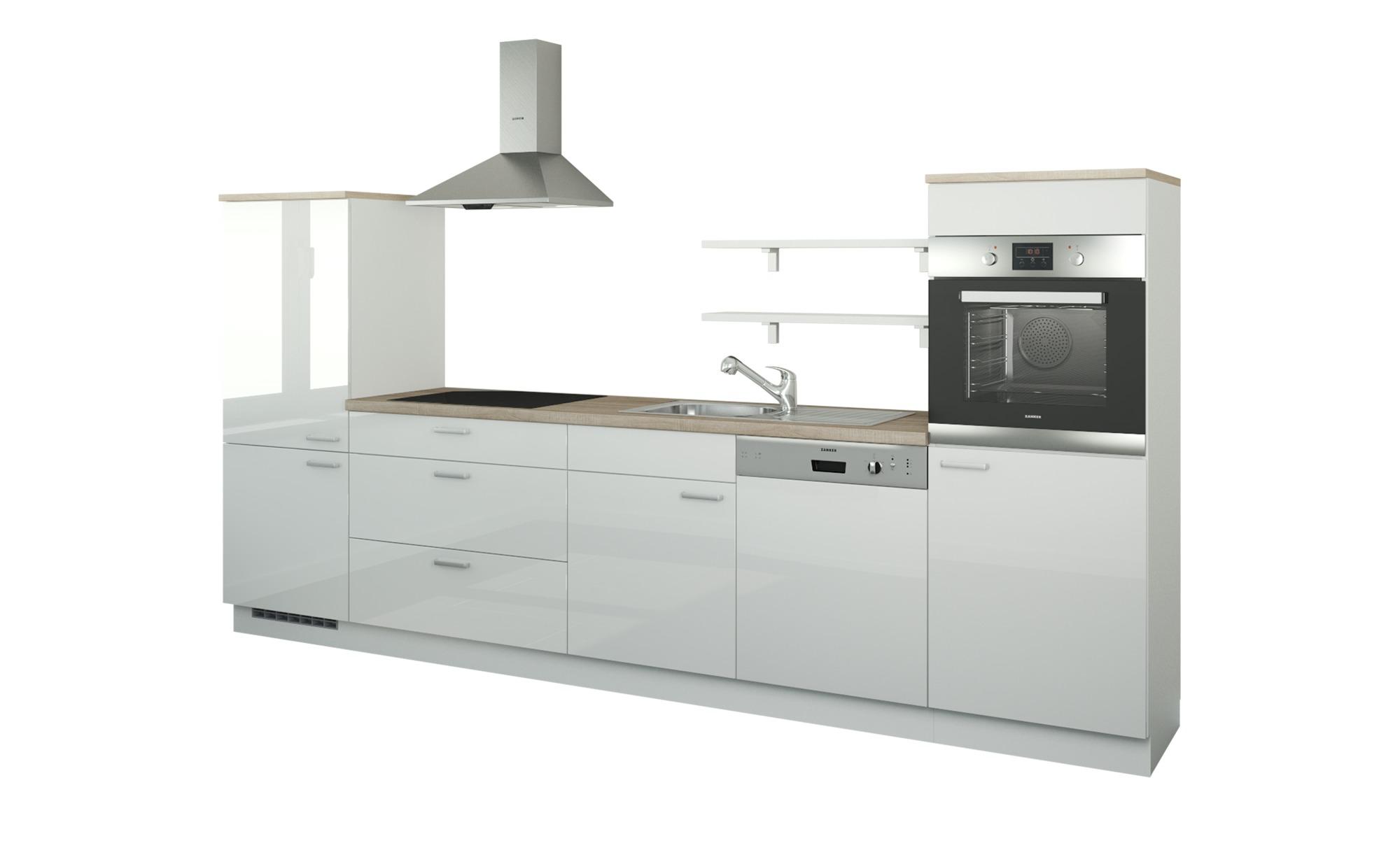 Küchenzeile ohne Elektrogeräte  Kassel ¦ weiß ¦ Maße (cm): B: 330 Küchen > Küchenblöcke ohne E-Geräte - Höffner