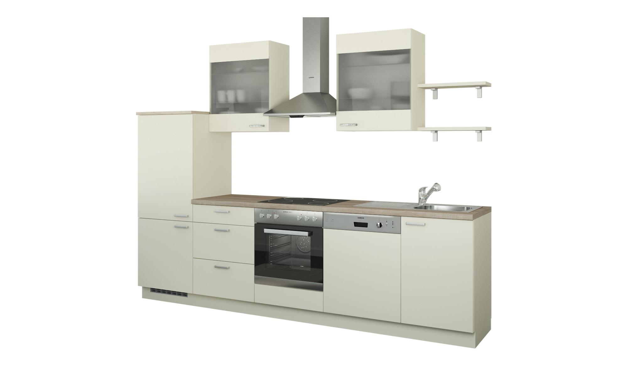 Küchenzeile ohne Elektrogeräte  Hamburg ¦ creme ¦ Maße (cm): B: 290 Küchen > Küchenblöcke ohne E-Geräte - Höffner