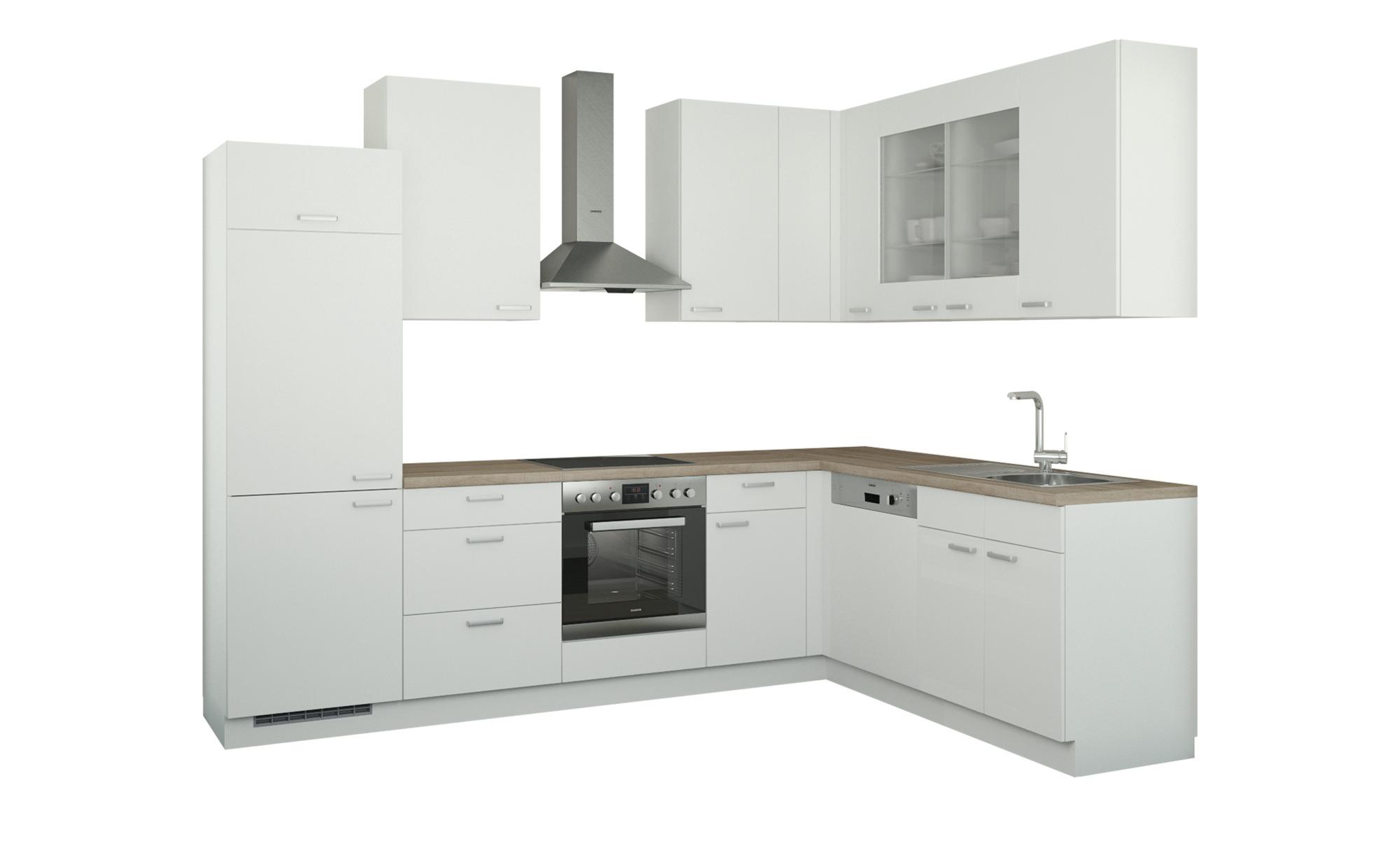 Winkelküche ohne Elektrogeräte  München ¦ weiß Küchen > Küchenblöcke ohne E-Geräte - Höffner | Küche und Esszimmer > Küchen > Winkelküchen | Möbel Höffner DE