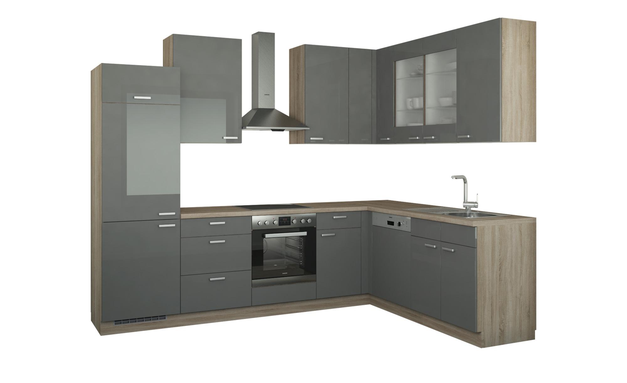 Winkelküche ohne Elektrogeräte  München Küchen > Küchenblöcke - Höffner