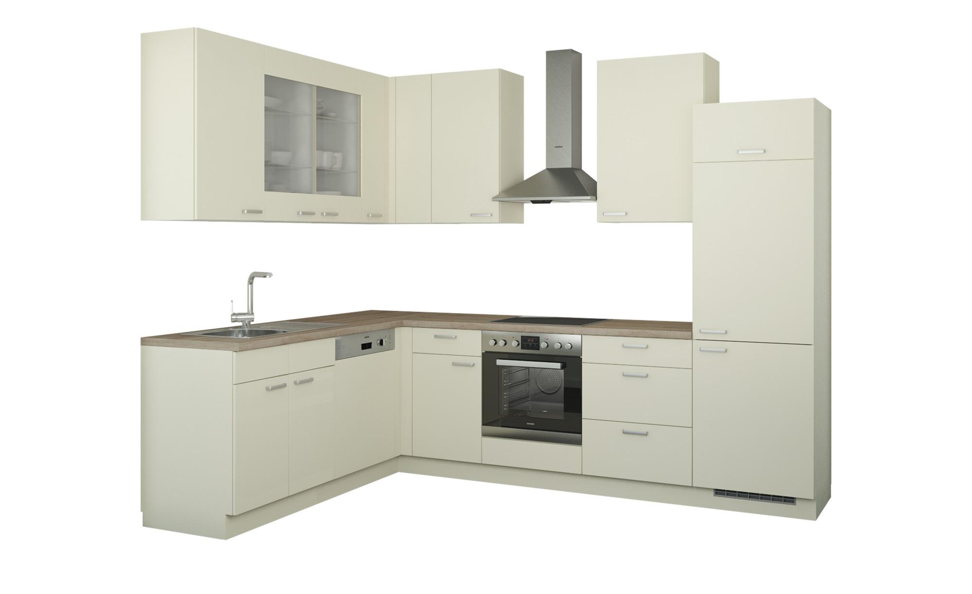 Winkelküche ohne Elektrogeräte  München ¦ creme Küchen > Küchenblöcke - Höffner