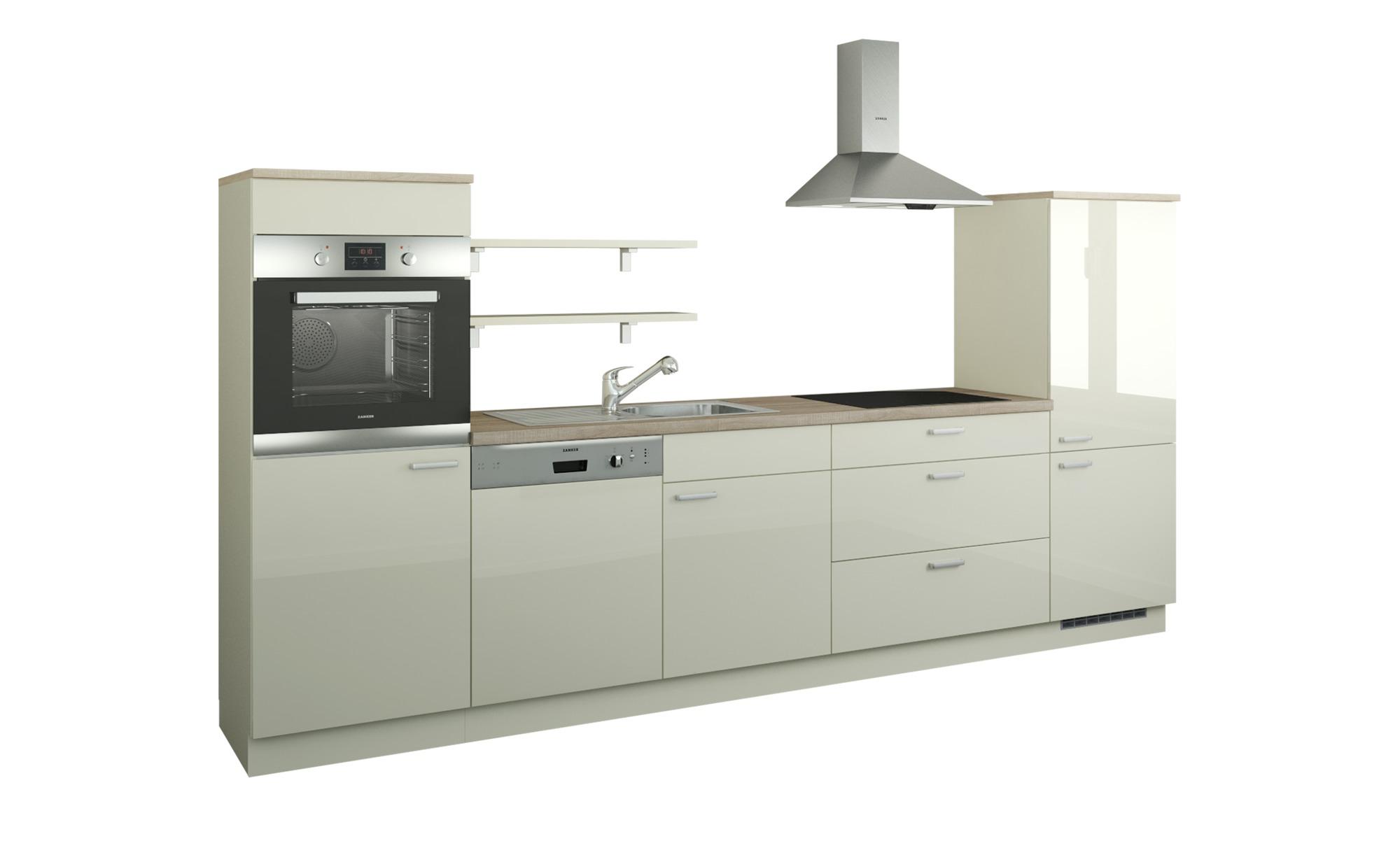Küchenzeile ohne Elektrogeräte  Kassel ¦ creme ¦ Maße (cm): B: 330 Küchen > Küchenblöcke ohne E-Geräte - Höffner