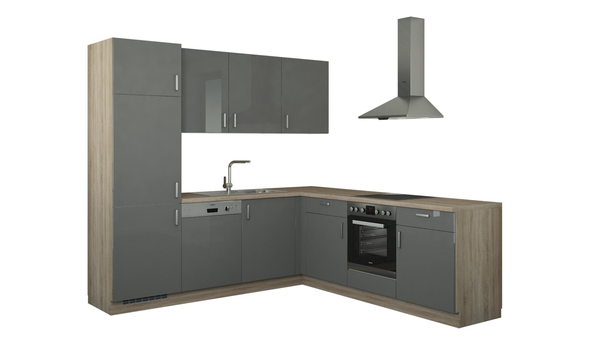 Winkelküche ohne Elektrogeräte  Stuttgart Küchen > Küchenblöcke - Höffner | Küche und Esszimmer > Küchen > Winkelküchen | Holzwerkstoff | Möbel Höffner DE