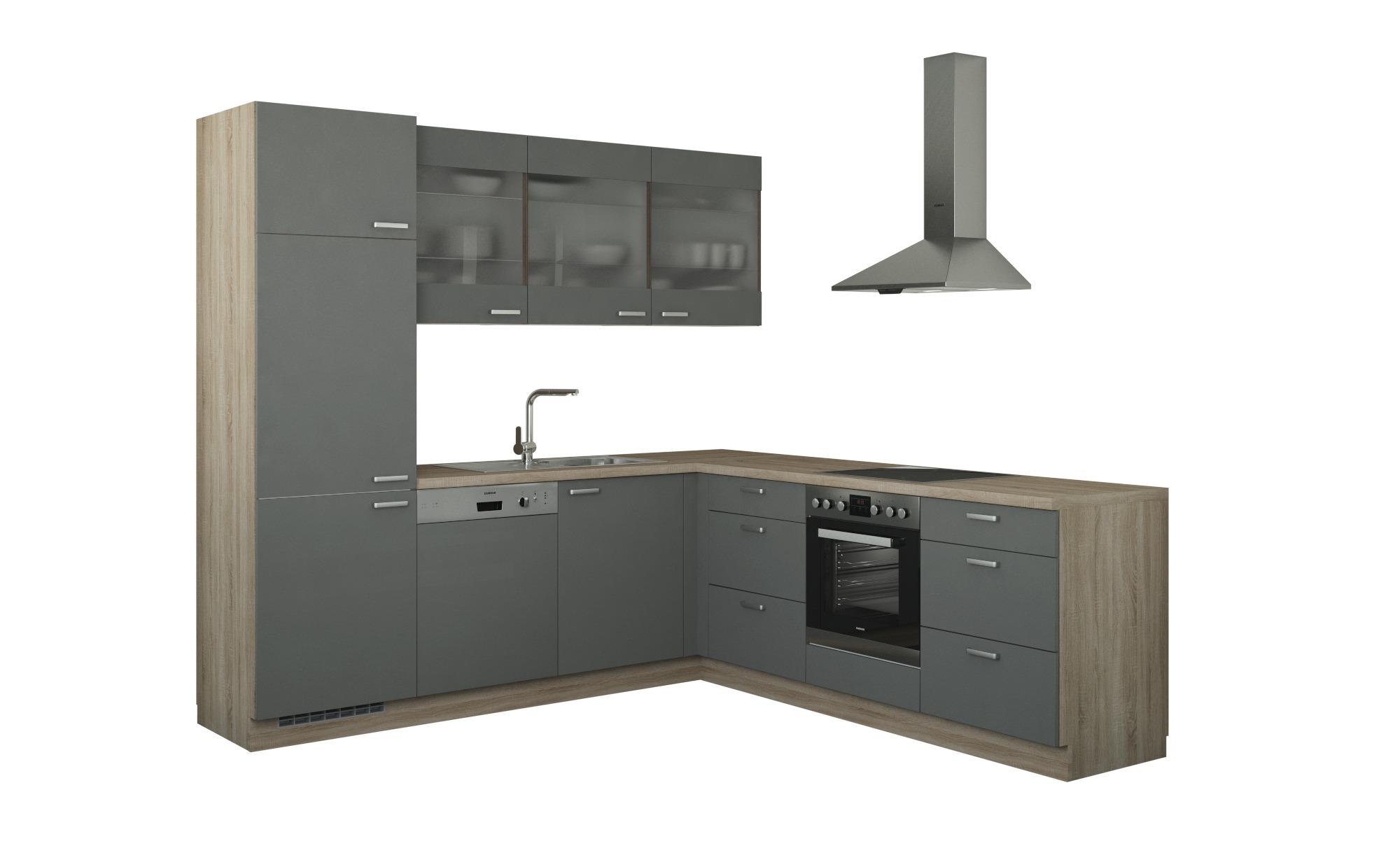 Winkelküche ohne Elektrogeräte  Sylt Küchen > Küchenblöcke - Höffner | Küche und Esszimmer > Küchen > Winkelküchen | Holzwerkstoff - Glas | Möbel Höffner DE