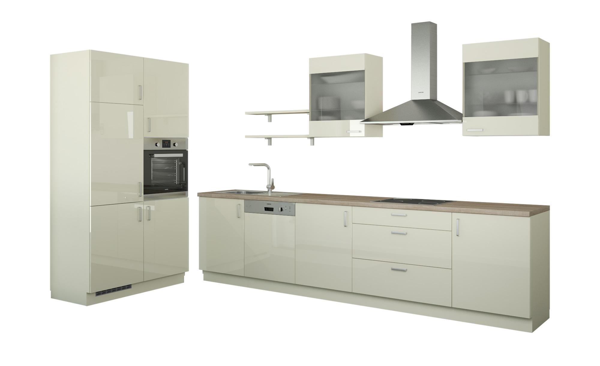 Küchenzeile ohne Elektrogeräte Frankfurt, gefunden bei Möbel Höffner