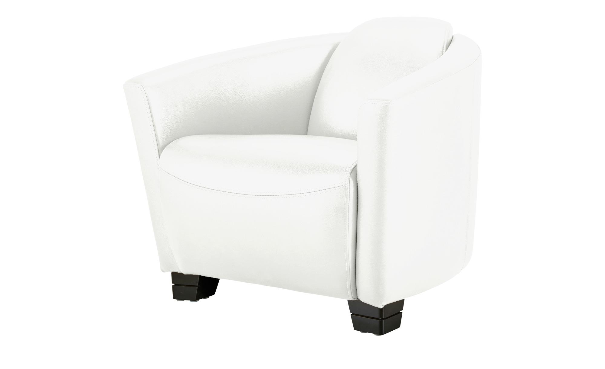 uno Ledersessel weiß - Leder Taylor ¦ weiß ¦ Maße (cm): B: 79 H: 73 T: 85 Polstermöbel > Sessel > Ledersessel - Höffner