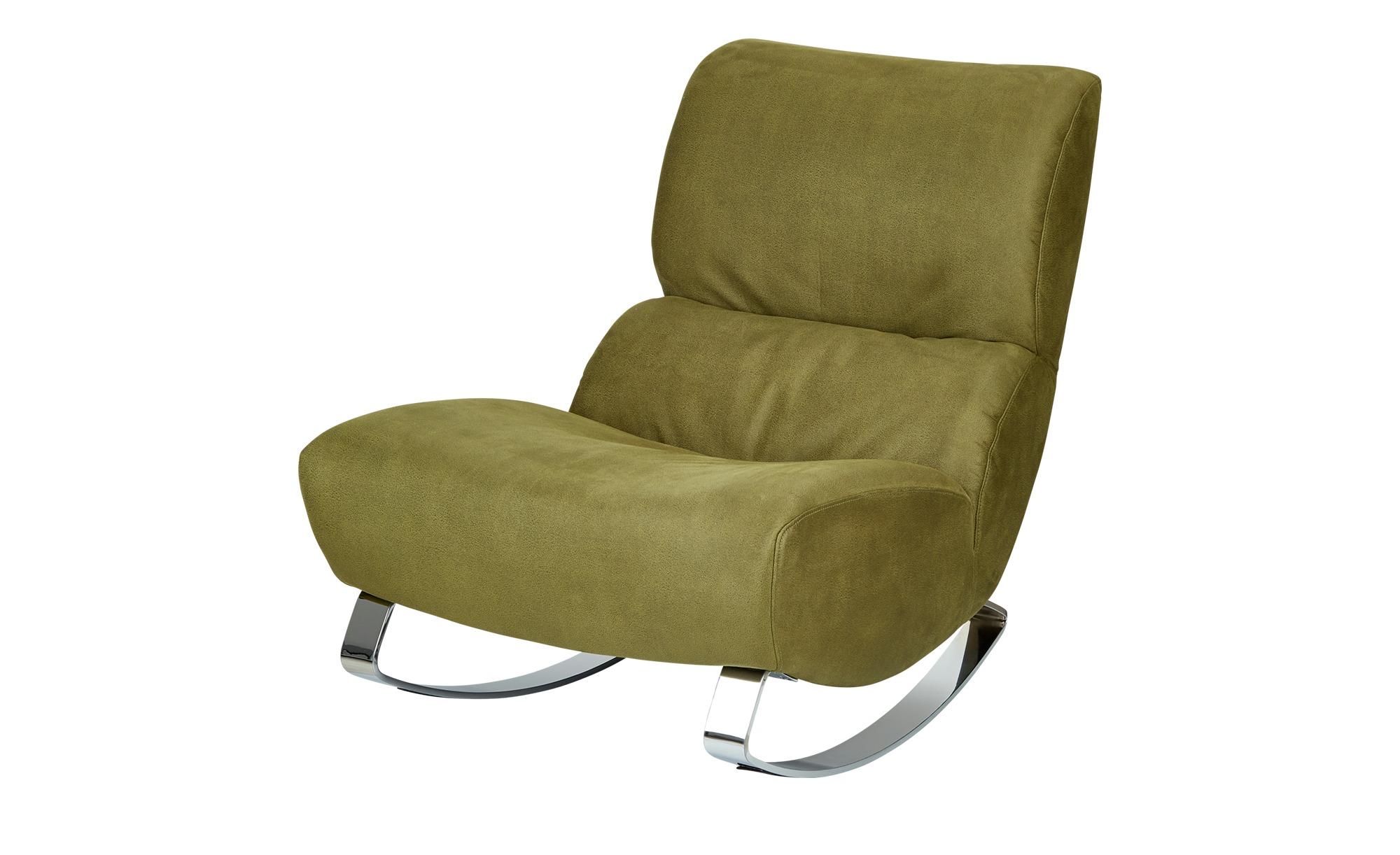 pop Design-Sessel grün - Stoff Citole ¦ grün ¦ Maße (cm): B: 76 H: 90 T: 103 Polstermöbel > Sessel > Polstersessel - Höffner