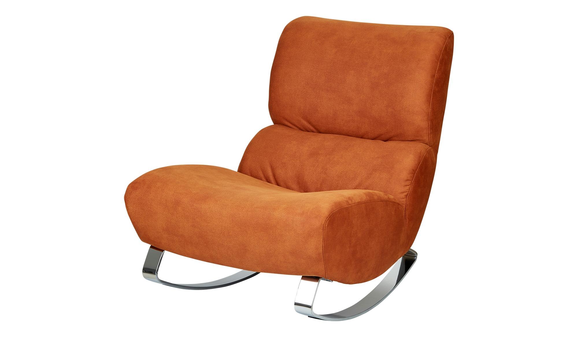 Design-Sessel orange - Stoff Citole ¦ orange ¦ Maße (cm): B: 76 H: 90 T: 103 Polstermöbel > Sessel > Polstersessel - Höffner