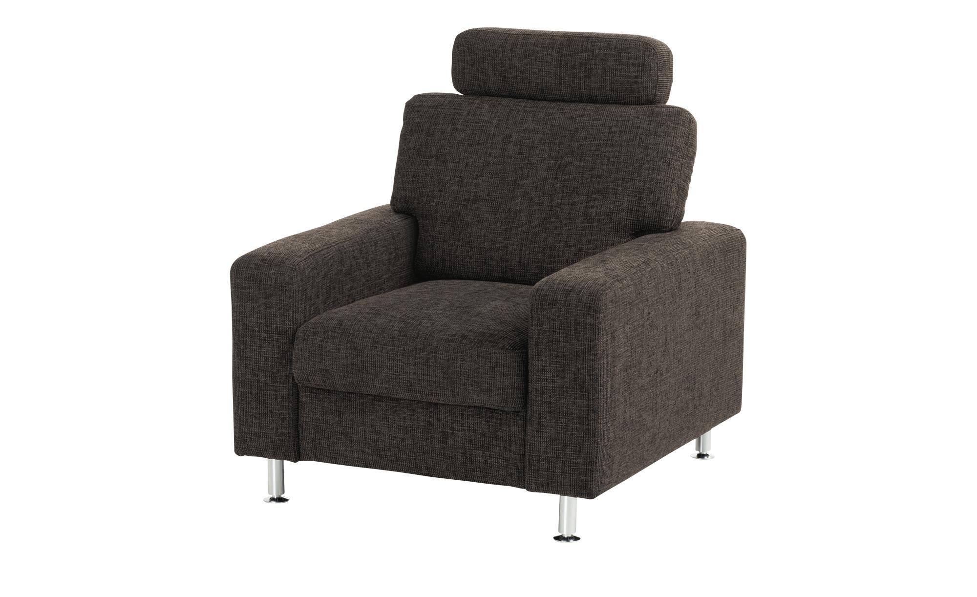 meinSofa Brauner Polstersessel  Jana ¦ braun ¦ Maße (cm): B: 88 H: 85 T: 95 Polstermöbel > Sessel > Polstersessel - Höffner