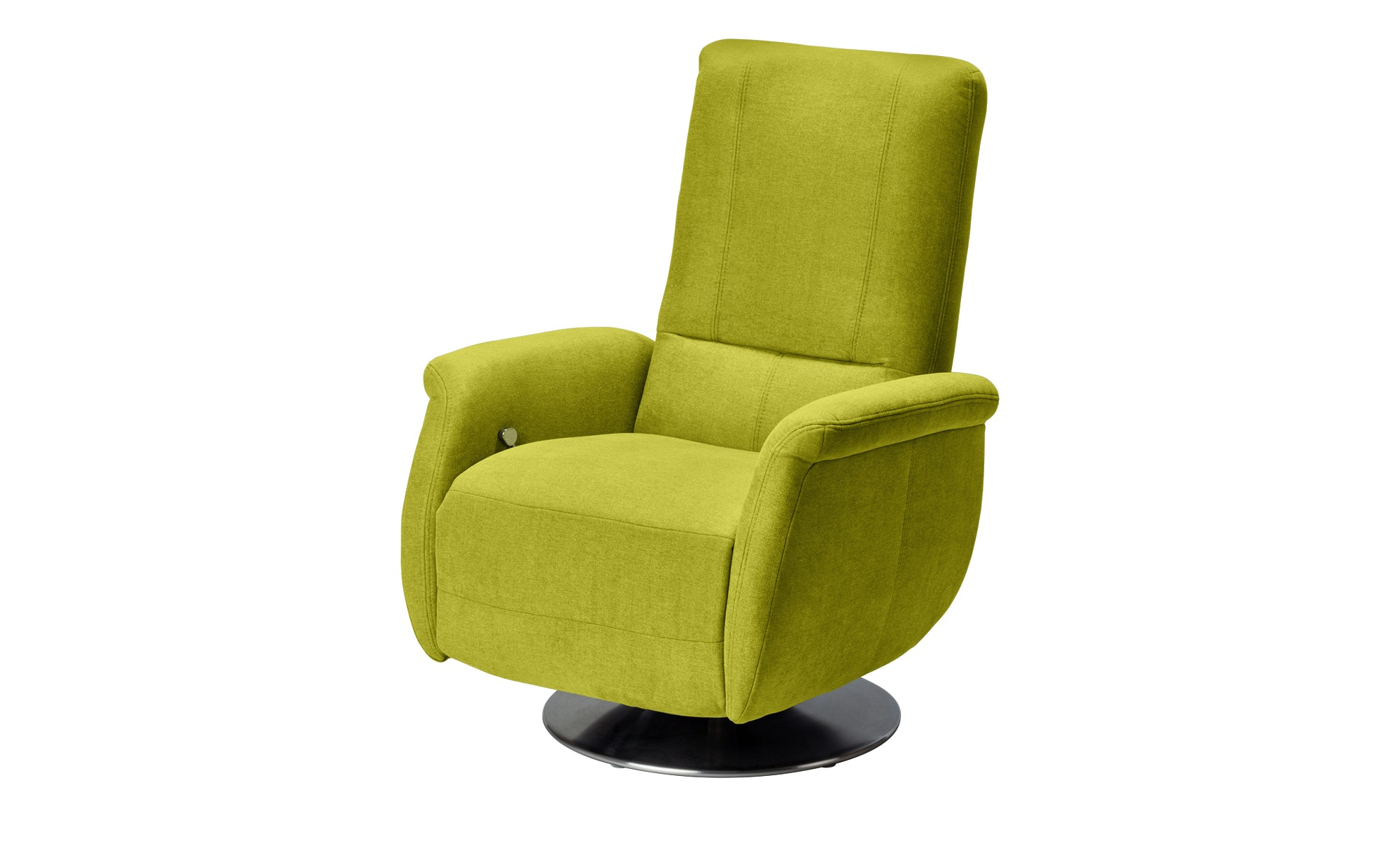 meinSofa Relaxsessel grün - Stoff Felix ¦ grün Polstermöbel > Sessel > Fernsehsessel - Höffner