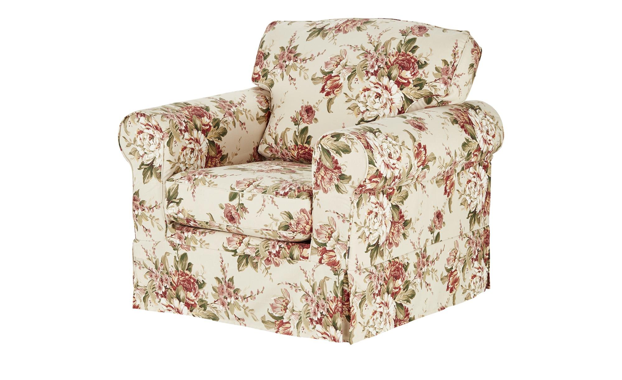 Sessel mit Husse bunt - Stoff Chaneel ¦ mehrfarbig ¦ Maße (cm): B: 99 H: 94 T: 92 Polstermöbel > Sessel > Polstersessel - Höffner