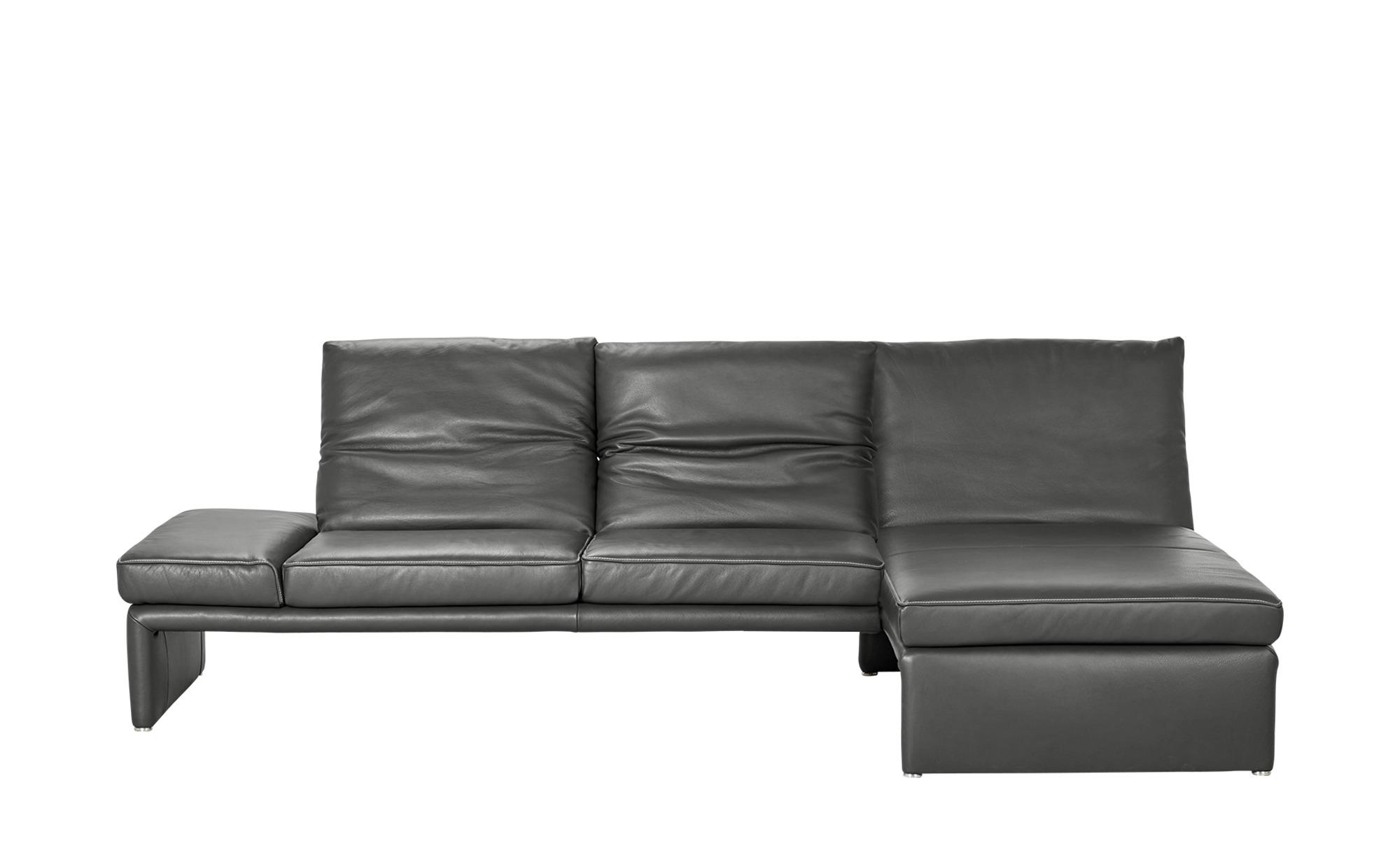 KOINOR Design-Couch  Raoul ¦ grau ¦ Maße (cm): H: 99 Polstermöbel > Sofas > Ecksofas - Höffner