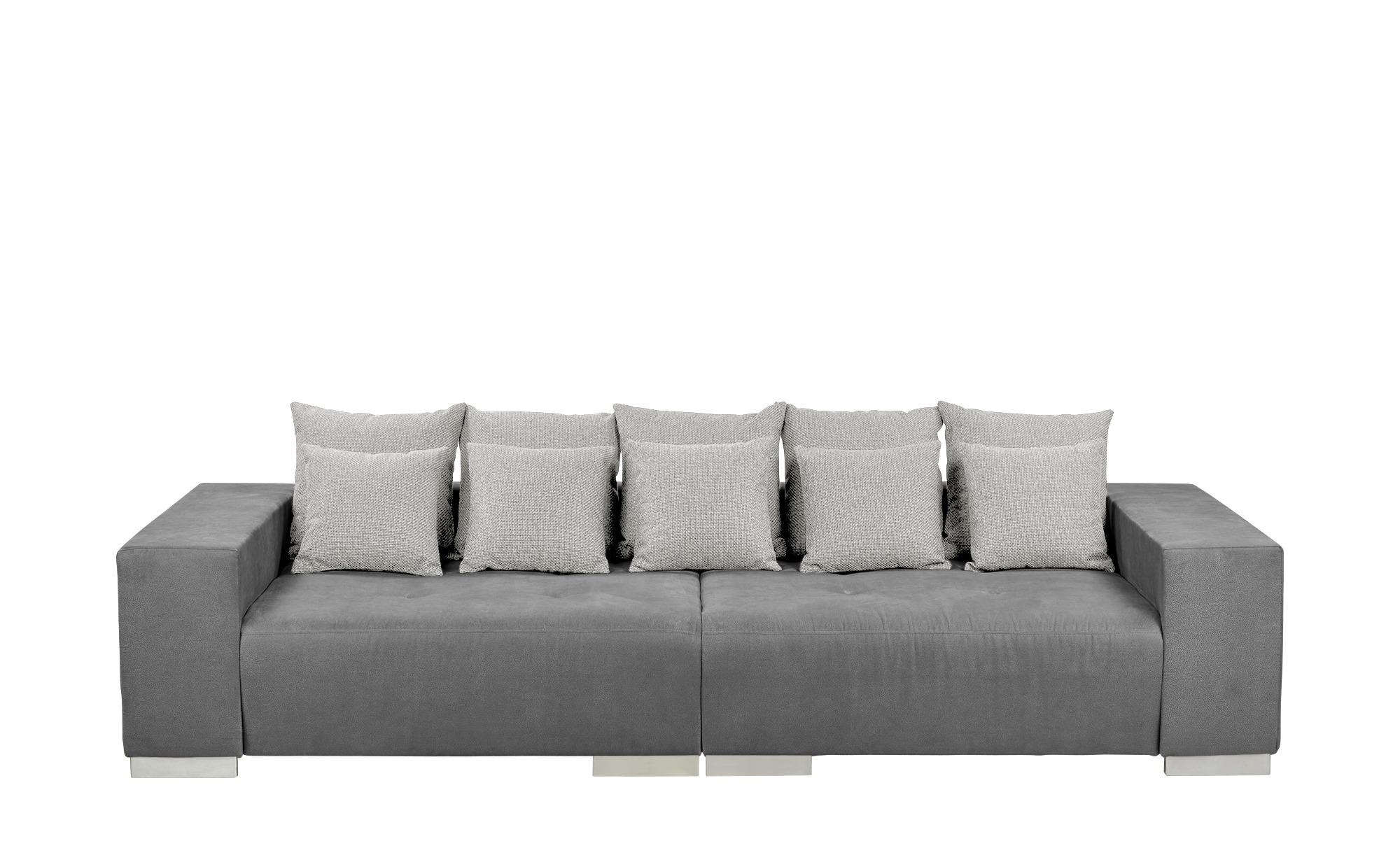 switch Big-Sofa  Max ¦ grau ¦ Maße (cm): B: 300 H: 85 T: 136 Polstermöbel > Sofas > Big-Sofas - Höffner