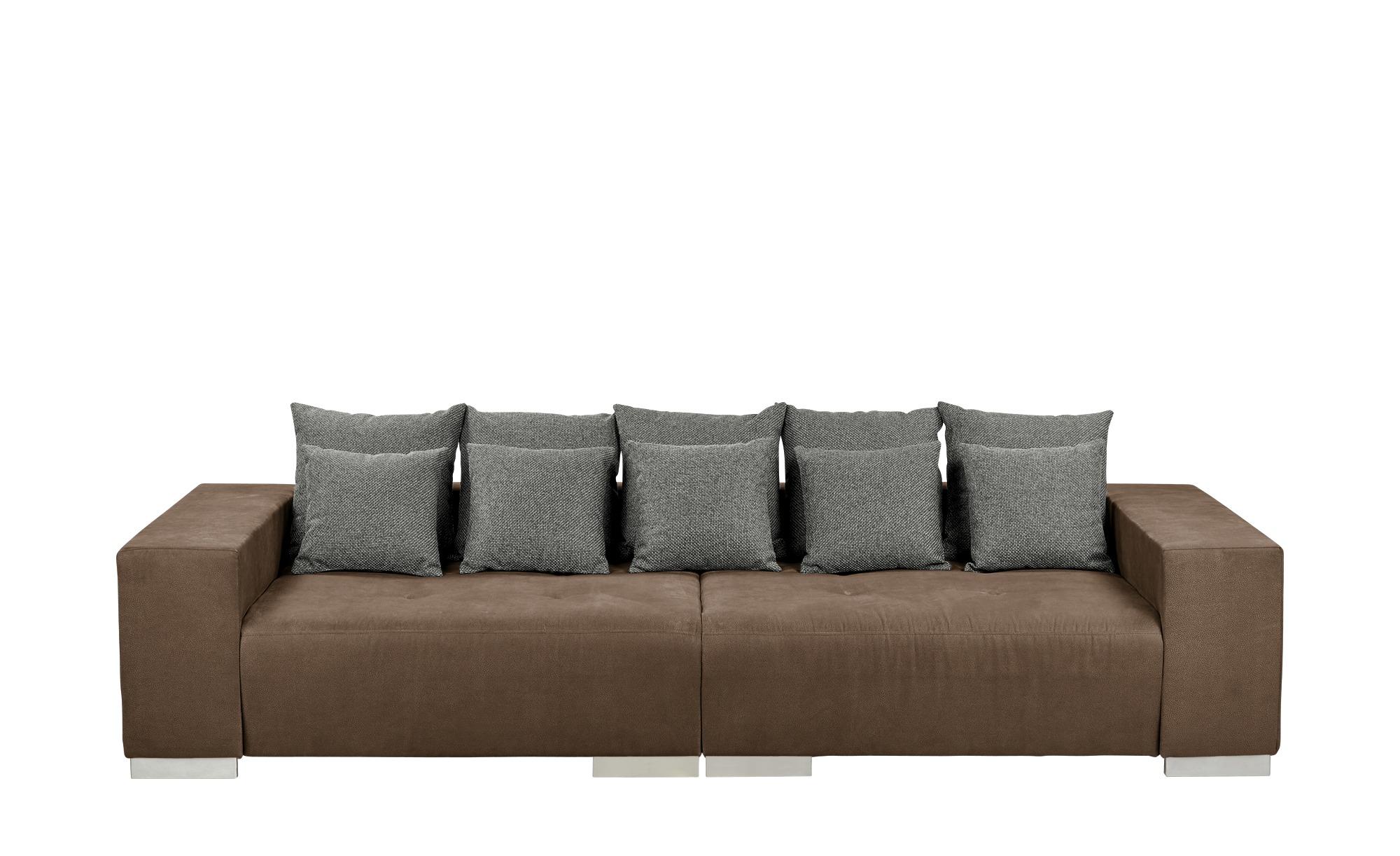 switch Big-Sofa braun - Mikrofaser Max ¦ braun ¦ Maße (cm): B: 300 H: 85 T: 136 Polstermöbel > Sofas > Big-Sofas - Höffner
