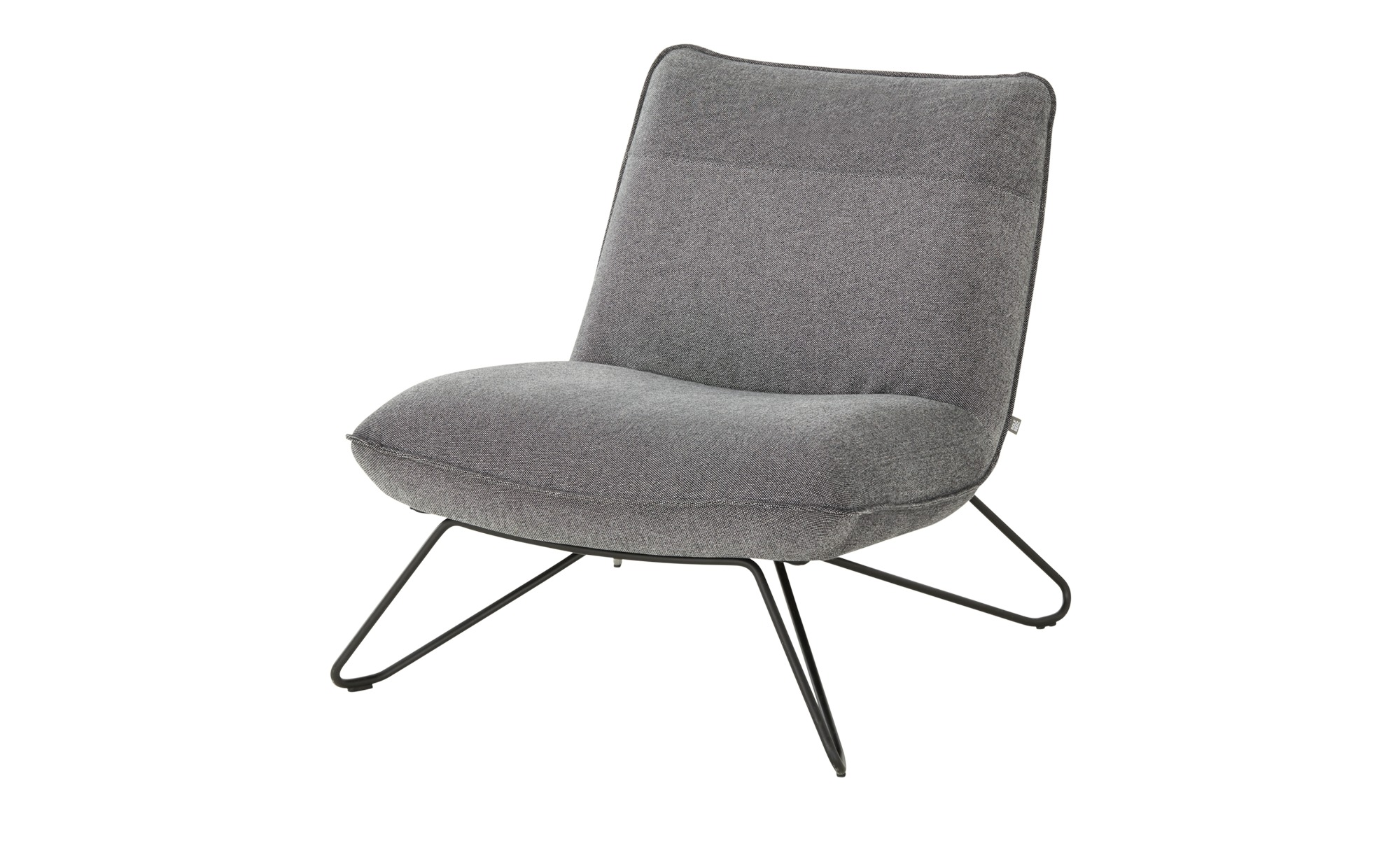 ROLF BENZ Sessel  394 ¦ grau ¦ Maße (cm): B: 75 H: 79 T: 92 Polstermöbel > Sessel > Polstersessel - Höffner