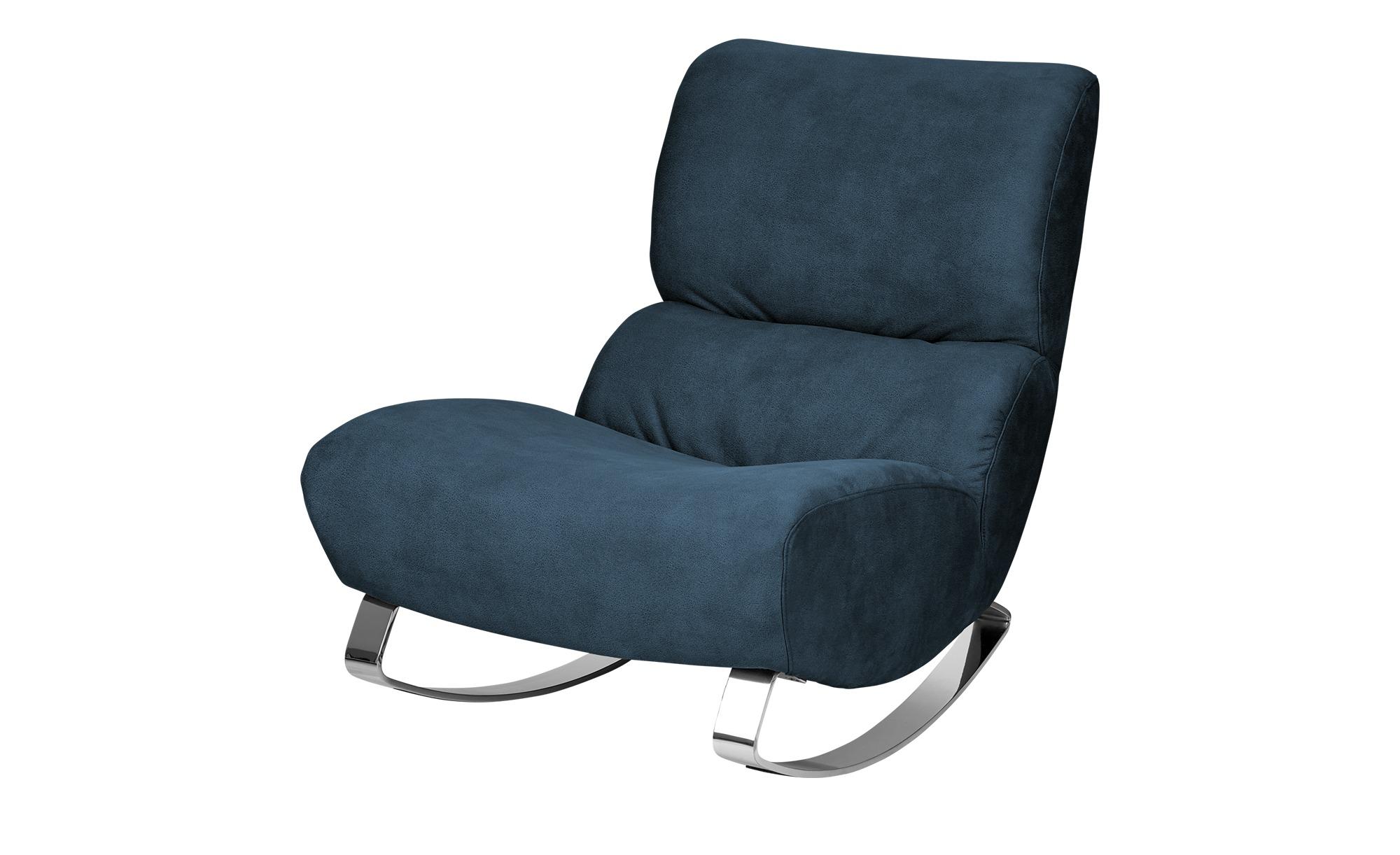 Design-Sessel blau - Stoff Citole ¦ blau ¦ Maße (cm): B: 76 H: 90 T: 103 Polstermöbel > Sessel > Polstersessel - Höffner