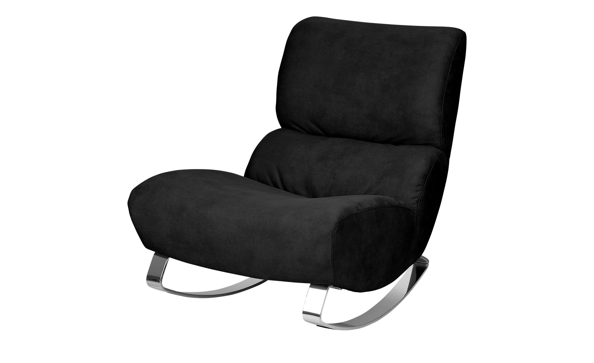 Design-Sessel schwarz - Stoff Citole ¦ schwarz ¦ Maße (cm): B: 76 H: 90 T: 103 Polstermöbel > Sessel > Polstersessel - Höffner