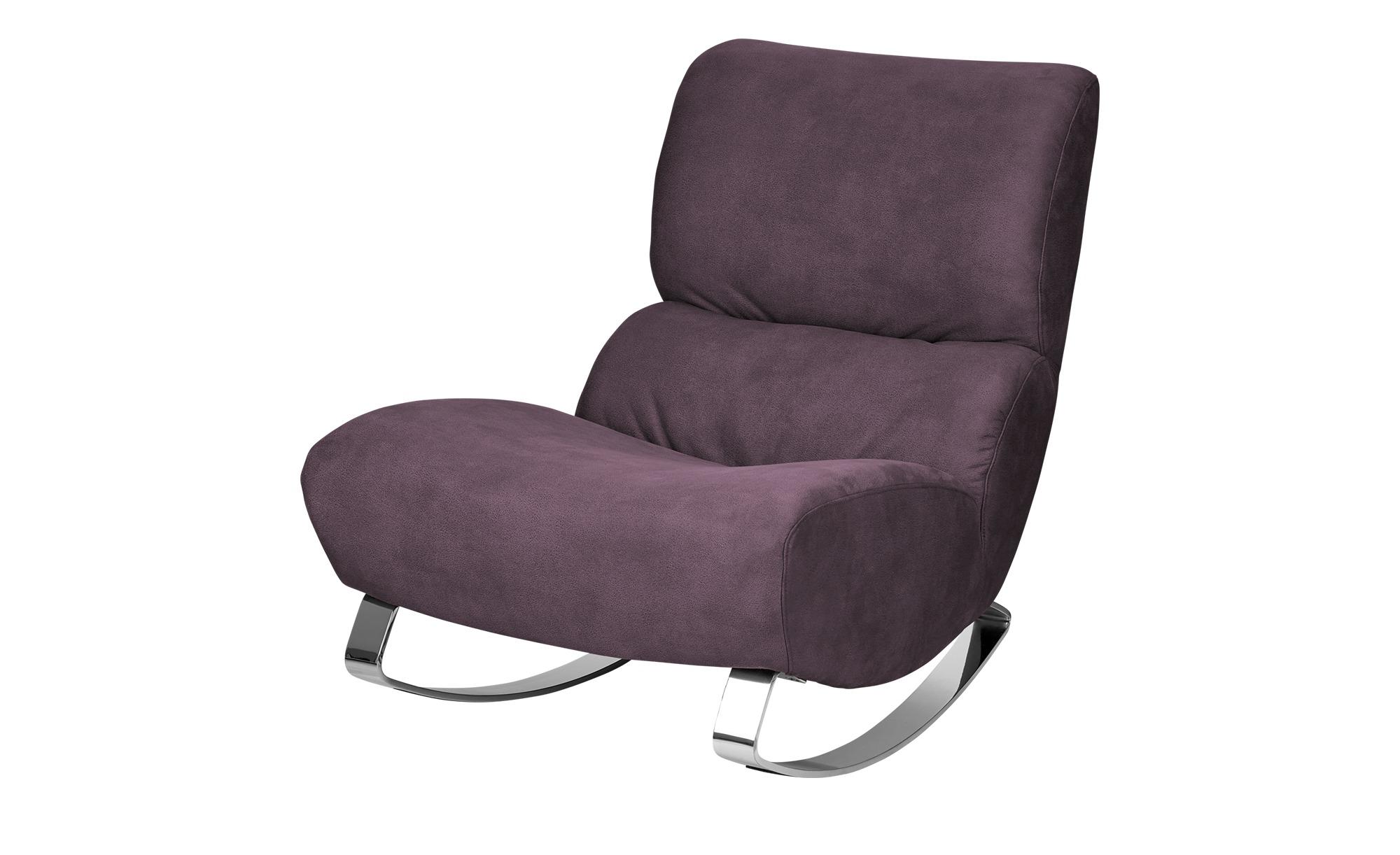 Design-Sessel violett - Stoff Citole ¦ lila/violett ¦ Maße (cm): B: 76 H: 90 T: 103 Polstermöbel > Sessel > Polstersessel - Höffner