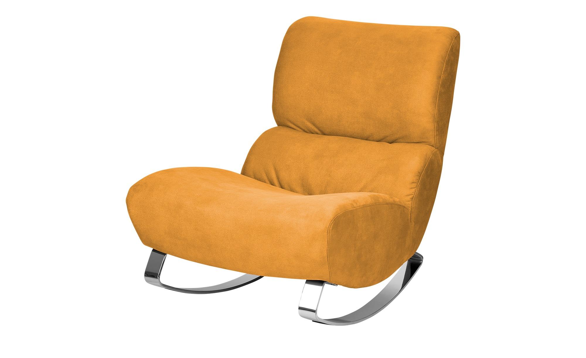 Design-Sessel gelb - Stoff Citole ¦ gelb ¦ Maße (cm): B: 76 H: 90 T: 103 Polstermöbel > Sessel > Polstersessel - Höffner
