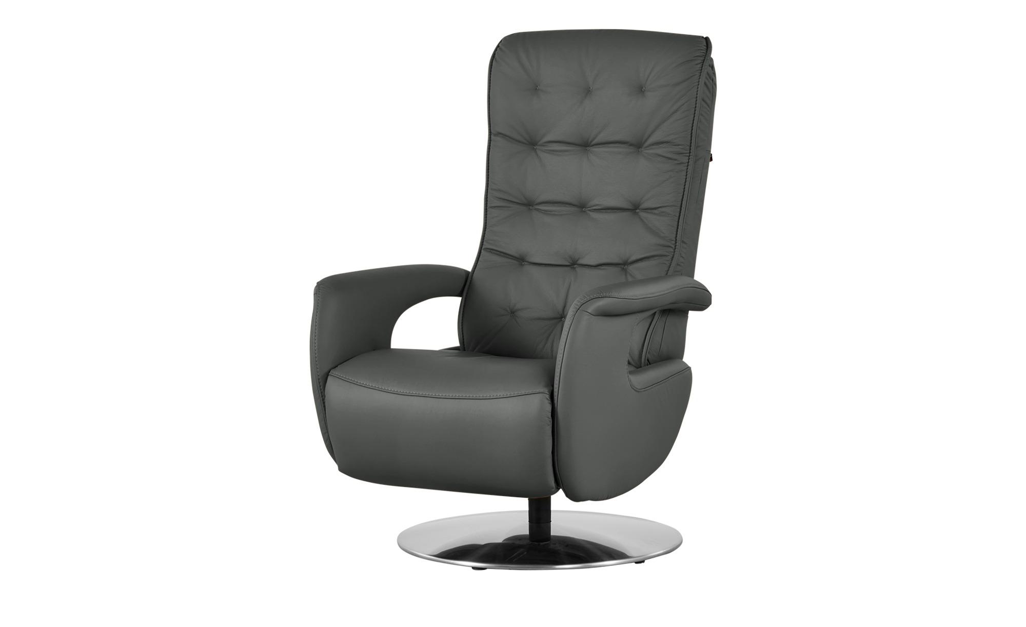 Hukla Relaxsessel  Smilla ¦ grau Polstermöbel > Sessel > Ledersessel - Höffner