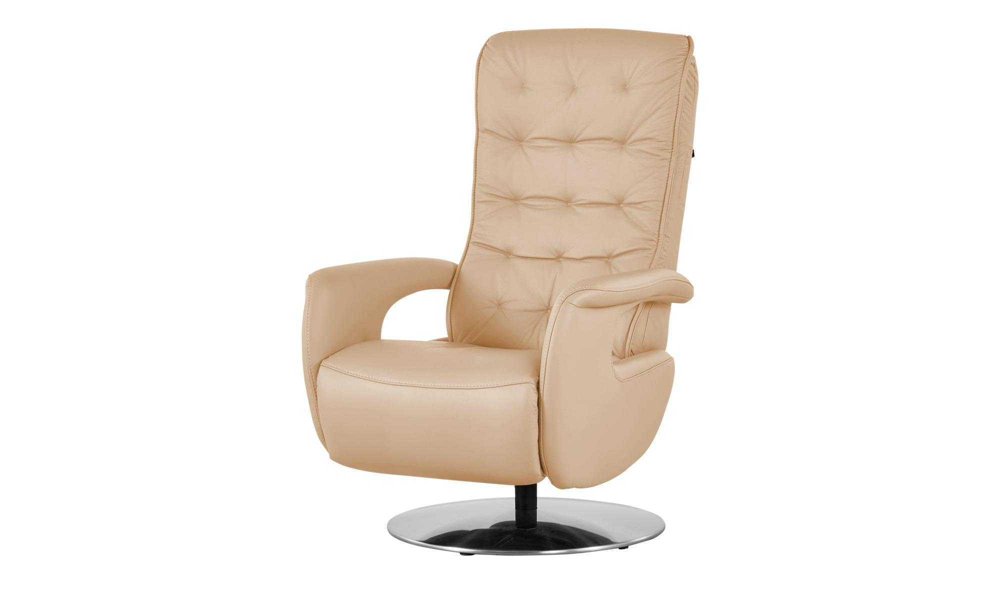 Hukla Relaxsessel  Smilla ¦ beige ¦ Maße (cm): B: 72 H: 113 T: 83 Polstermöbel > Sessel > Ledersessel - Höffner