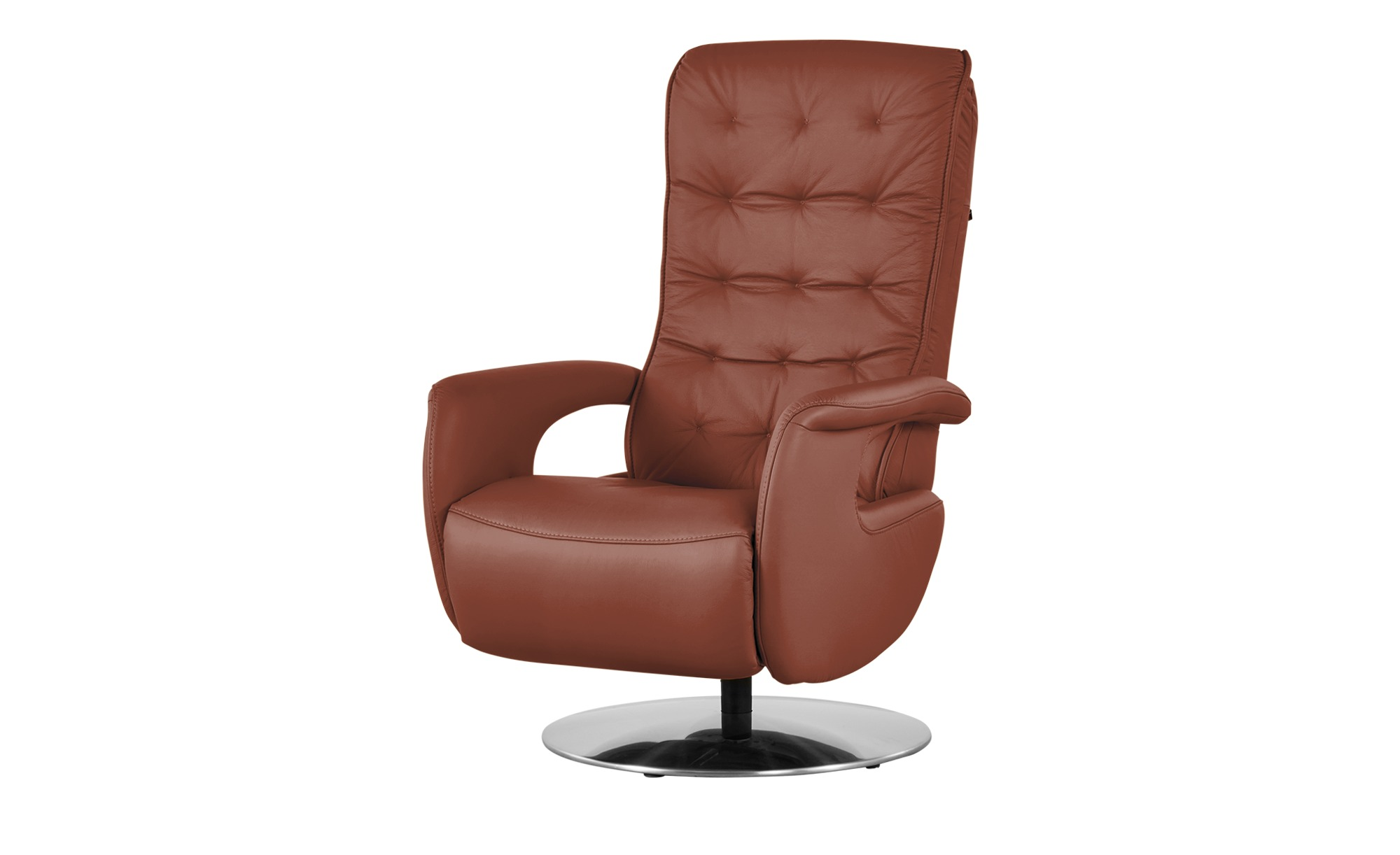 Hukla Relaxsessel  Smilla ¦ braun ¦ Maße (cm): B: 72 H: 113 T: 83 Polstermöbel > Sessel > Ledersessel - Höffner