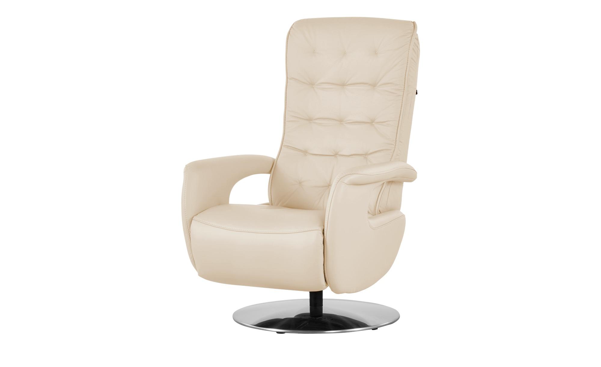 Hukla Relaxsessel  Smilla ¦ creme ¦ Maße (cm): B: 72 H: 113 T: 83 Polstermöbel > Sessel > Ledersessel - Höffner