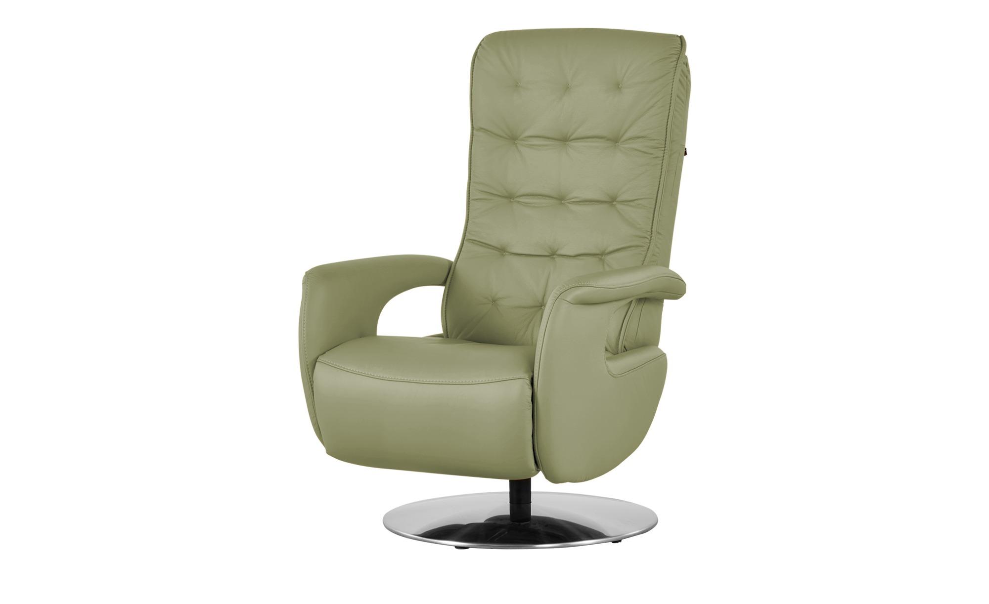 Hukla Relaxsessel  Smilla ¦ grün ¦ Maße (cm): B: 72 H: 113 T: 83 Polstermöbel > Sessel > Ledersessel - Höffner