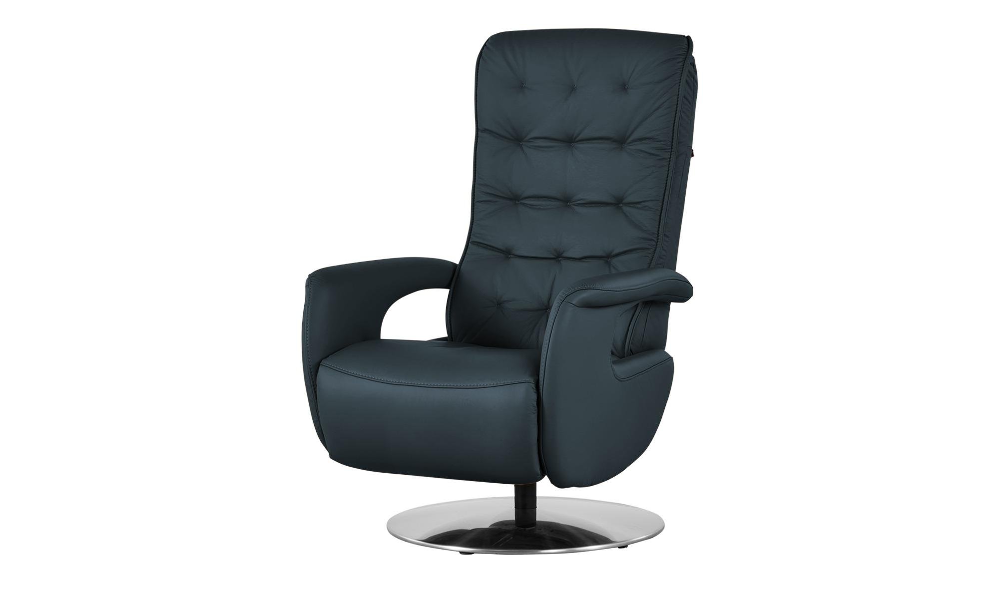 Hukla Relaxsessel  Smilla ¦ blau ¦ Maße (cm): B: 72 H: 113 T: 83 Polstermöbel > Sessel > Ledersessel - Höffner