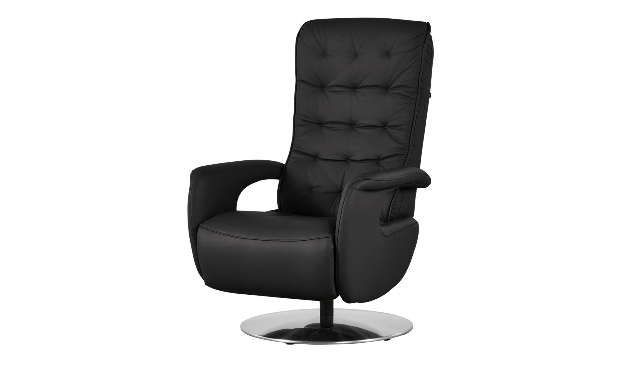 Hukla Relaxsessel  Smilla ¦ schwarz ¦ Maße (cm): B: 72 H: 113 T: 83 Polstermöbel > Sessel > Ledersessel - Höffner