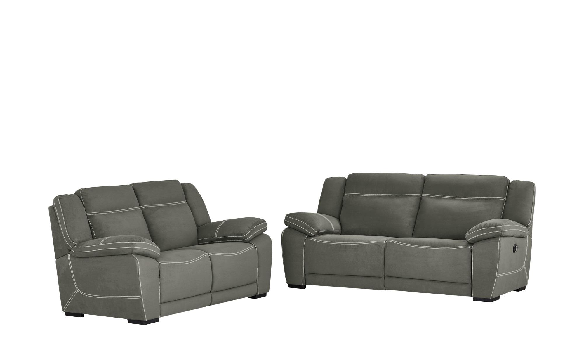 uno Sitzgruppe   Binta ¦ grau ¦ Maße (cm): H: 94 T: 95 Polstermöbel > Sofas > Sitzgruppen - Höffner