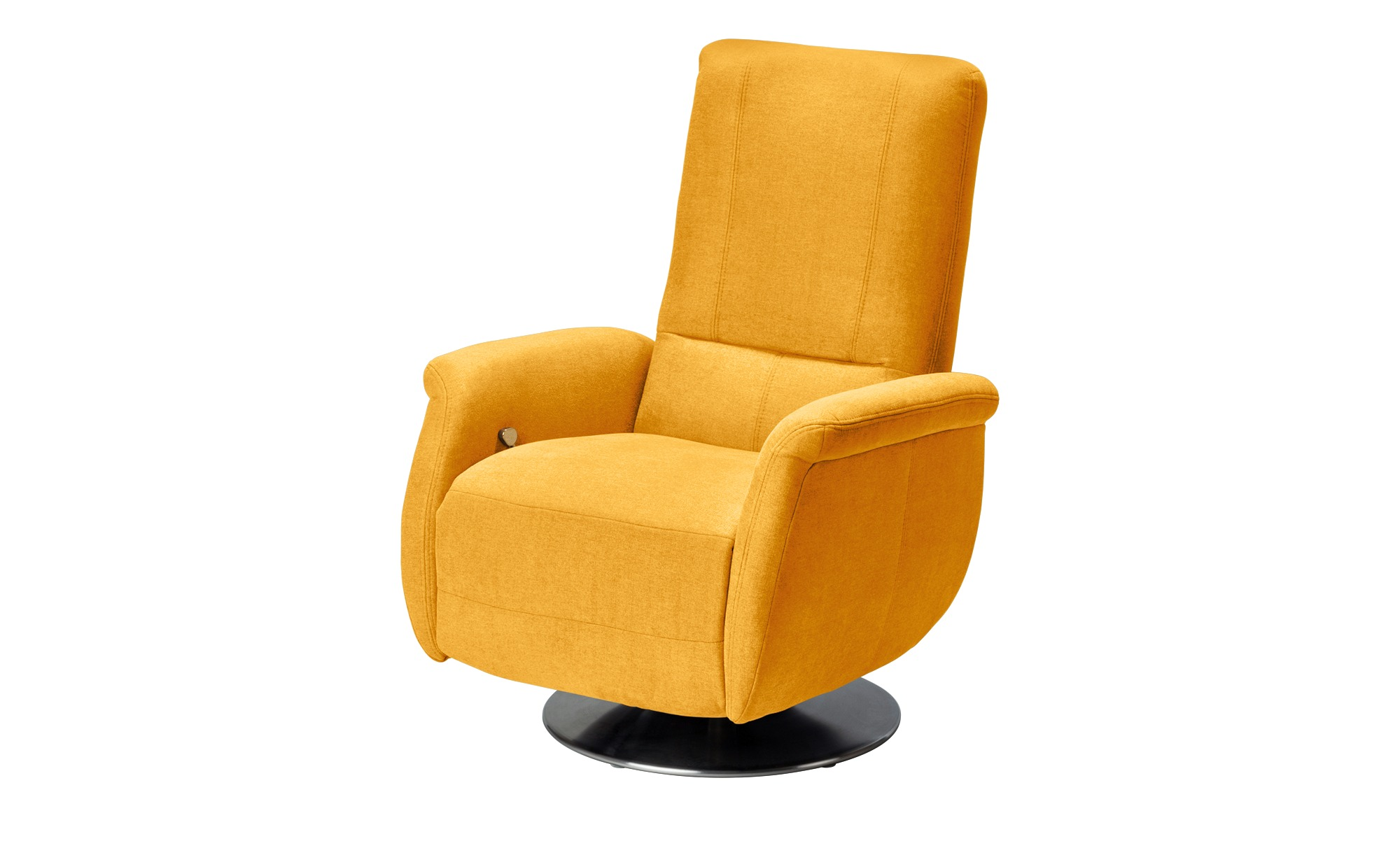 meinSofa Relaxsessel gelb - Stoff Felix-S ¦ gelb Polstermöbel > Sessel > Fernsehsessel - Höffner
