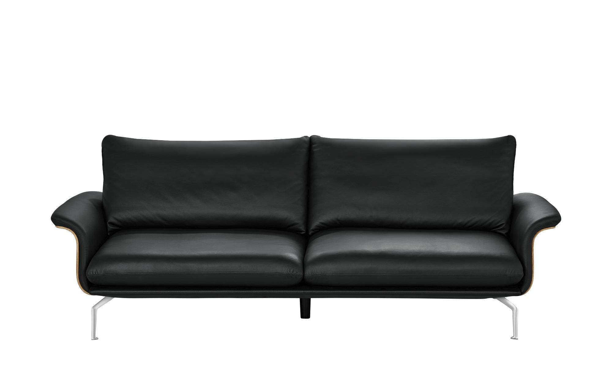sofa schwarz kunstleder leder lina schwarz 3 sitzer. Black Bedroom Furniture Sets. Home Design Ideas