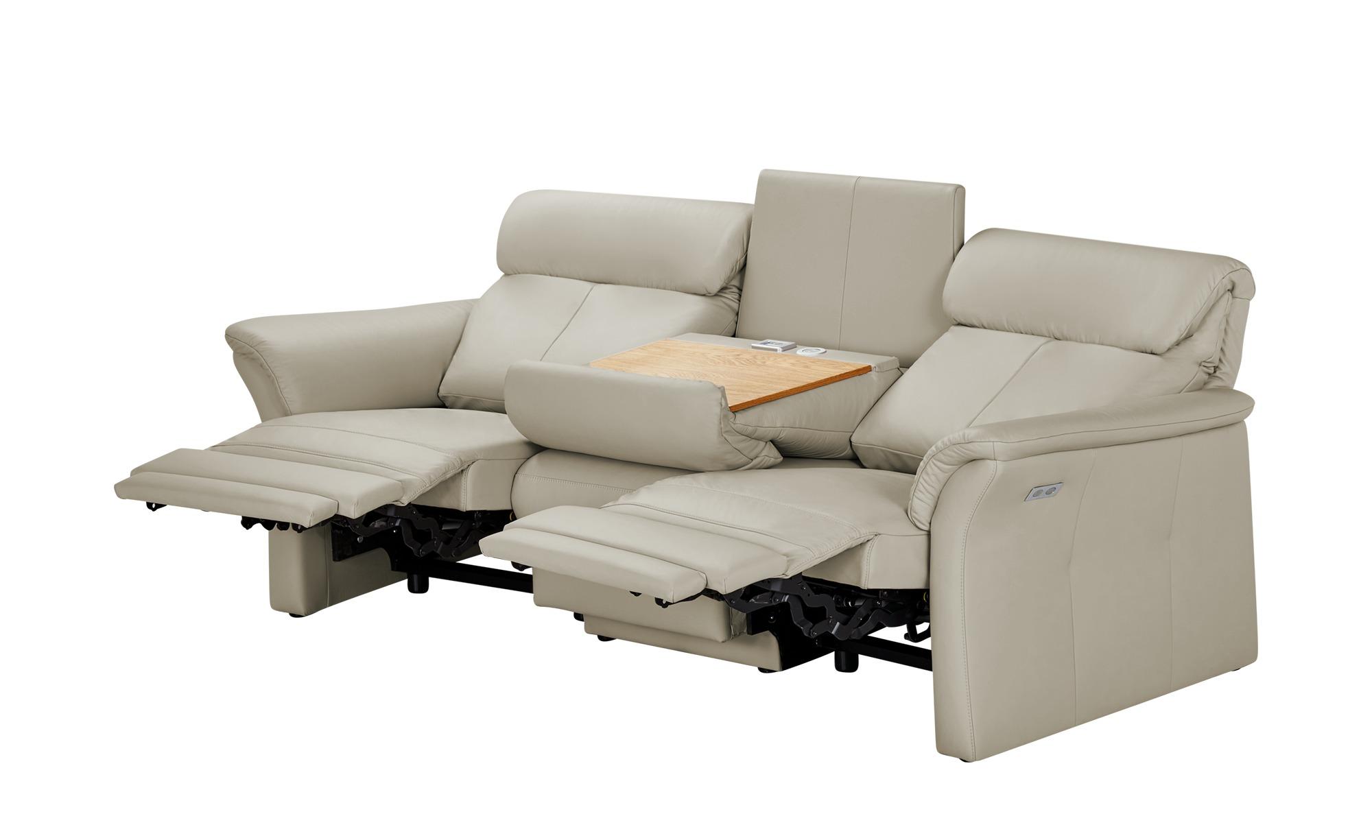 wohnwert trapezsofa grau leder lena funktion. Black Bedroom Furniture Sets. Home Design Ideas