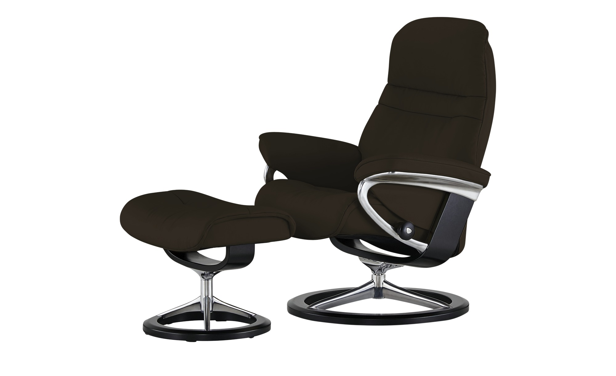 Stressless Relaxsessel mit Hocker Sunrise L, gefunden bei Möbel Höffner