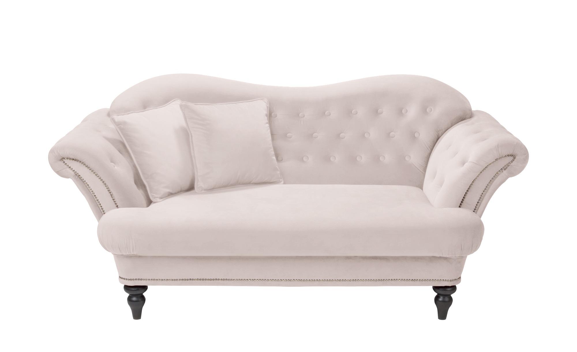 smart Sofa rosa - Mikrofaser Sissi ¦ rosa/pink ¦ Maße (cm): B: 198 H: 93 T: 104 Polstermöbel > Sofas > 2-Sitzer - Höffner