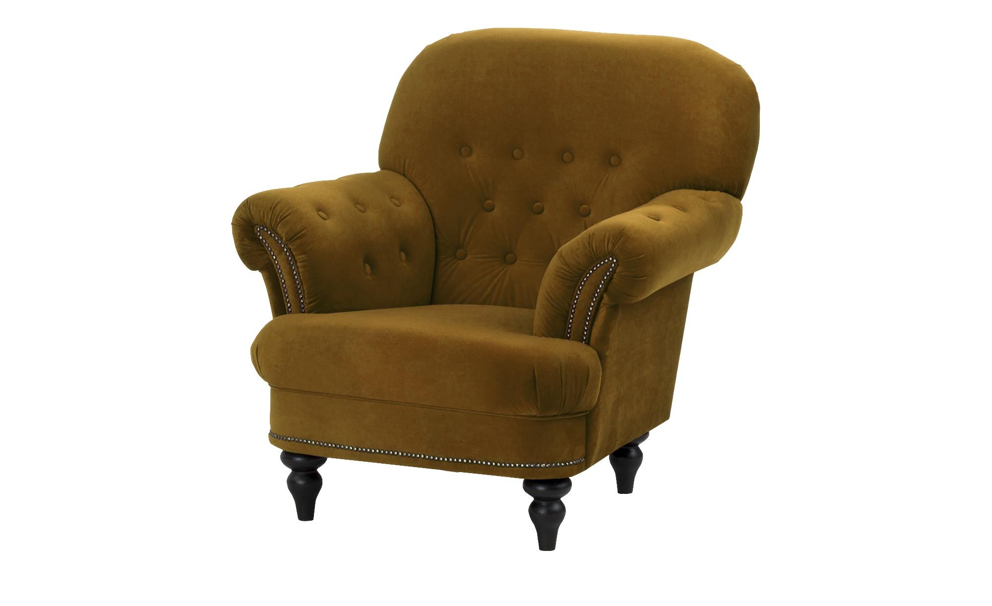 smart Sessel gelb - Stoff Sissi ¦ gelb ¦ Maße (cm): B: 100 H: 93 T: 87 Polstermöbel > Sessel > Polstersessel - Höffner