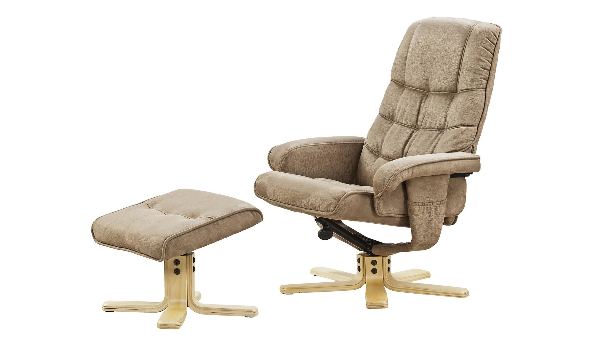 Relaxsessel  Susanne ¦ beige ¦ Maße (cm): B: 73 H: 74 T: 108 Polstermöbel > Sessel > Fernsehsessel - Höffner