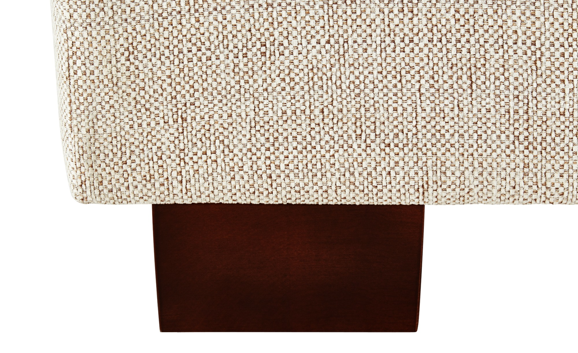 SOHO Sofa braun - Webstoff Franka ¦ Maße (cm): B: 136 H: 87 T: 103 Polstermöbel > Sofas > Einzelsofas - Höffner