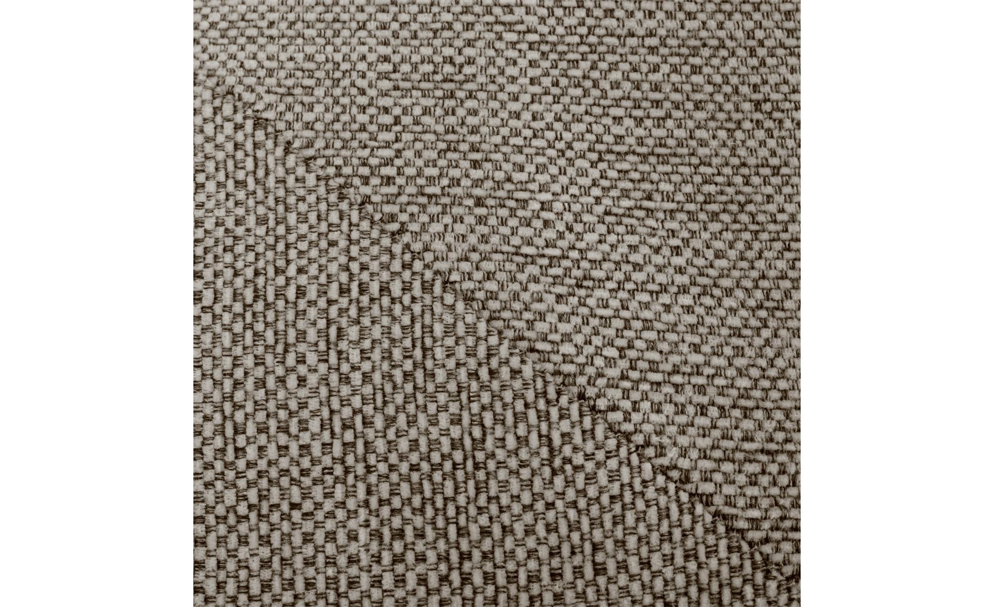 SOHO Ecksofa braun - Webstoff Paulina ¦ beige ¦ Maße (cm): H: 80 Polstermöbel > Sofas > Ecksofas - Höffner