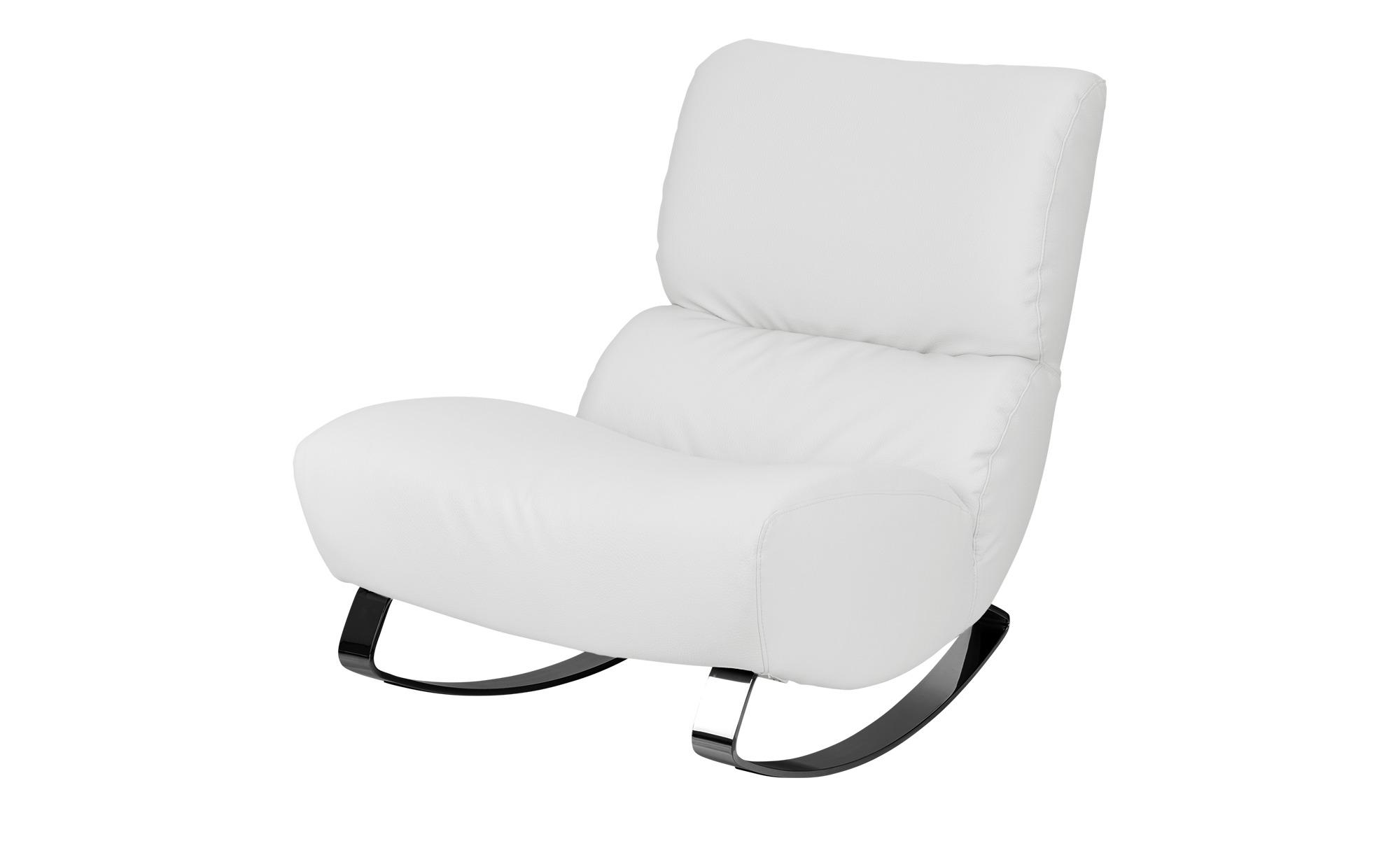 Design-Sessel weiß - Kunstleder Citole ¦ weiß ¦ Maße (cm): B: 76 H: 90 T: 103 Polstermöbel > Sessel > Polstersessel - Höffner