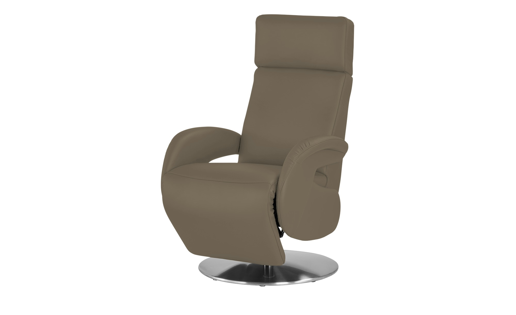 Leder-Relaxsessel braun - Leder Varioso ¦ braun ¦ Maße (cm): B: 76 H: 118 T: 86 Polstermöbel > Sessel > Fernsehsessel - Höffner