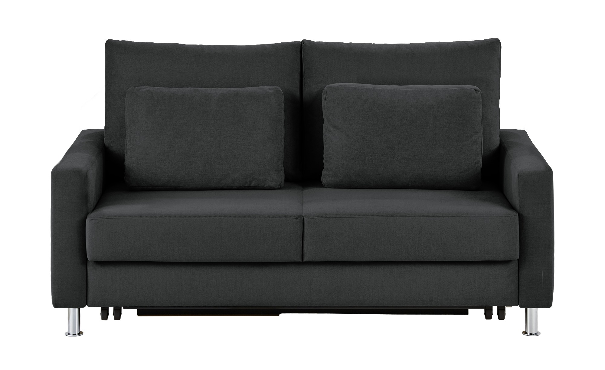 Schlafsofa grau - Mikrofaser Fürth ¦ grau ¦ Maße (cm): B: 146 H: 90 T: 95 Polstermöbel > Sofas > 2-Sitzer - Höffner