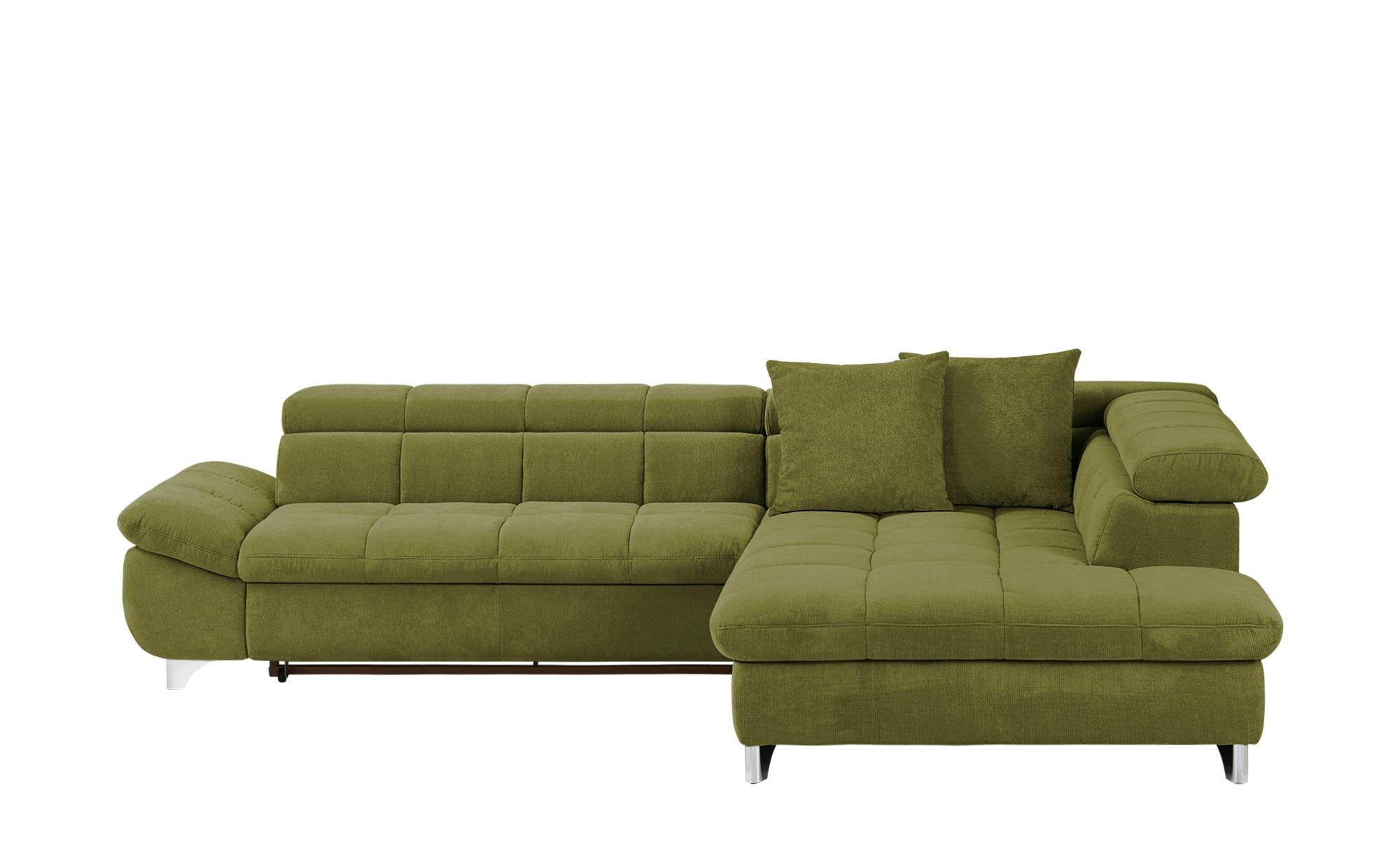 uno Ecksofa  Lorena ¦ grün ¦ Maße (cm): H: 79 Polstermöbel > Sofas > Ecksofas - Höffner