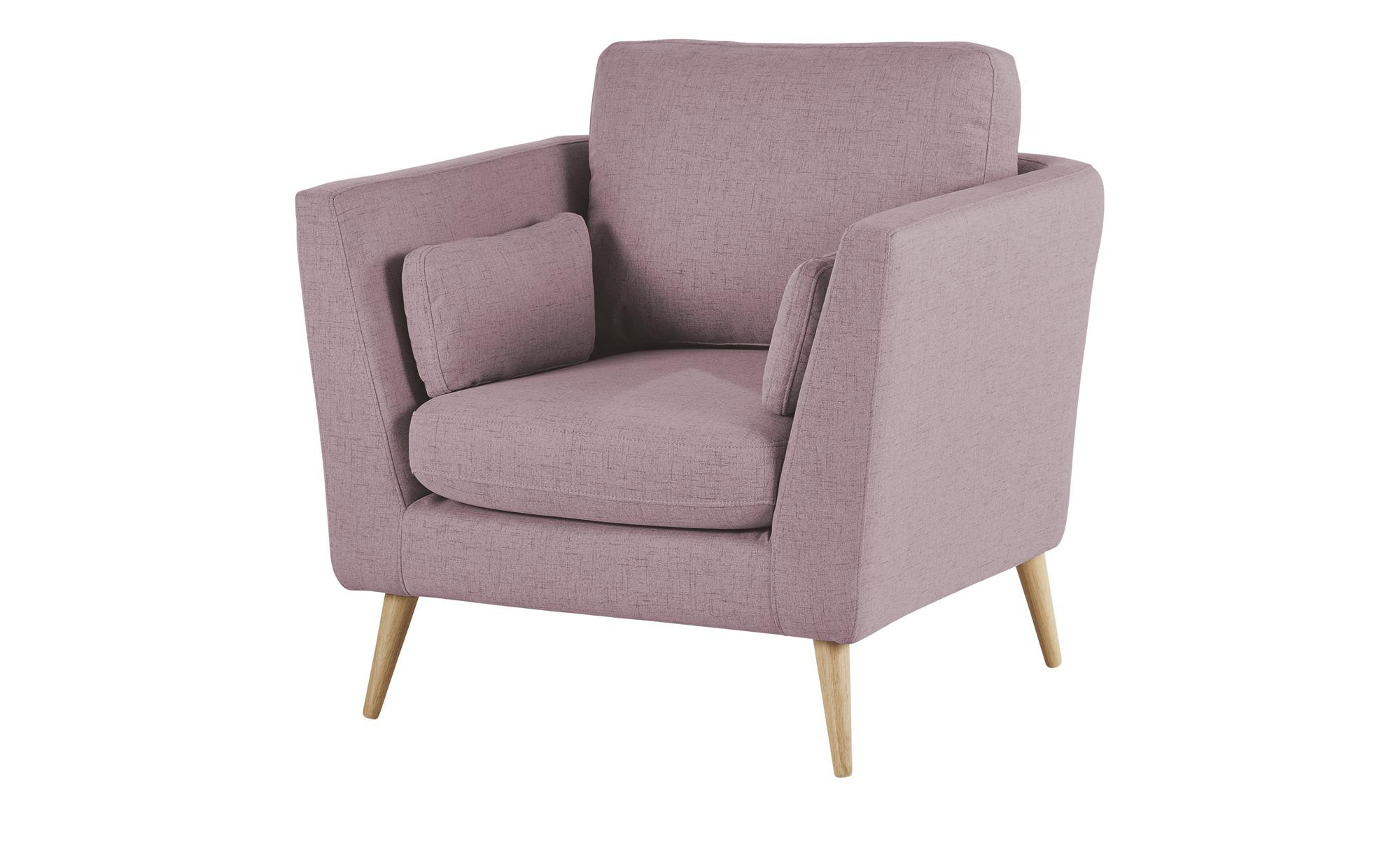 finya Skandi-Sessel rosa - Stoff Jane ¦ rosa/pink ¦ Maße (cm): B: 89 H: 92 T: 88 Polstermöbel > Sessel > Polstersessel - Höffner