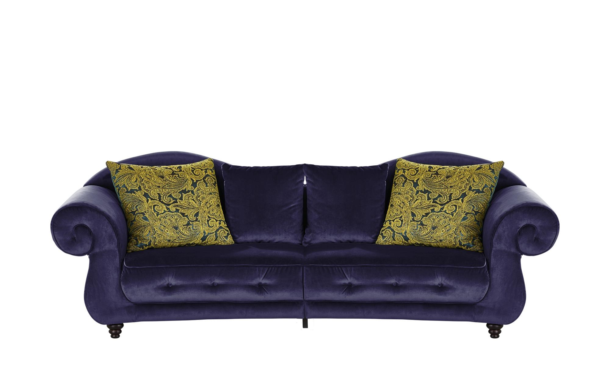 Design Big Sofa lila - Mikrofaser Nobody ¦ lila/violett ¦ Maße (cm): B: 288 H: 98 T: 110 Polstermöbel > Sofas > Big-Sofas - Höffner