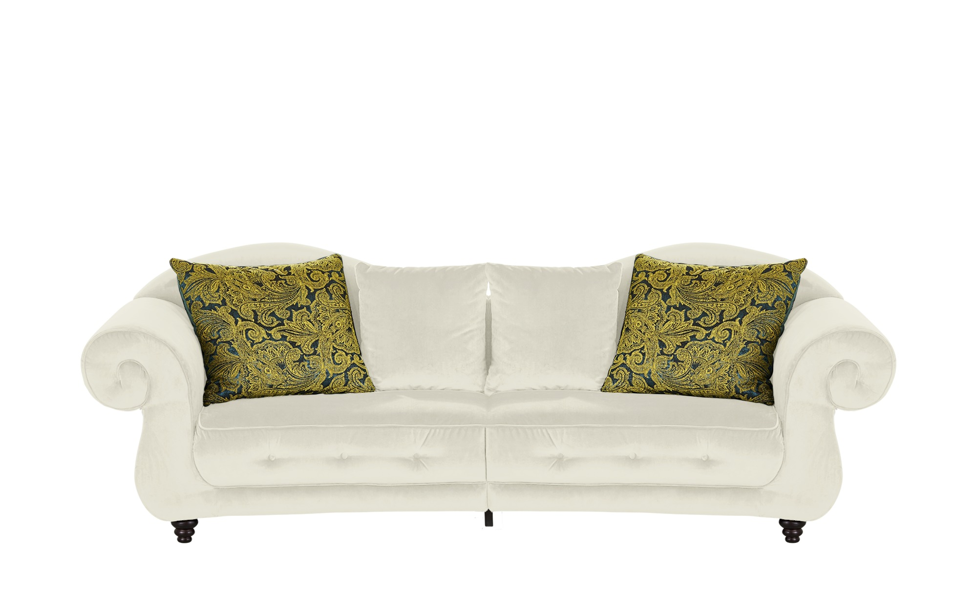 Design Big Sofa creme - Mikrofaser Nobody ¦ creme ¦ Maße (cm): B: 288 H: 98 T: 110 Polstermöbel > Sofas > Big-Sofas - Höffner
